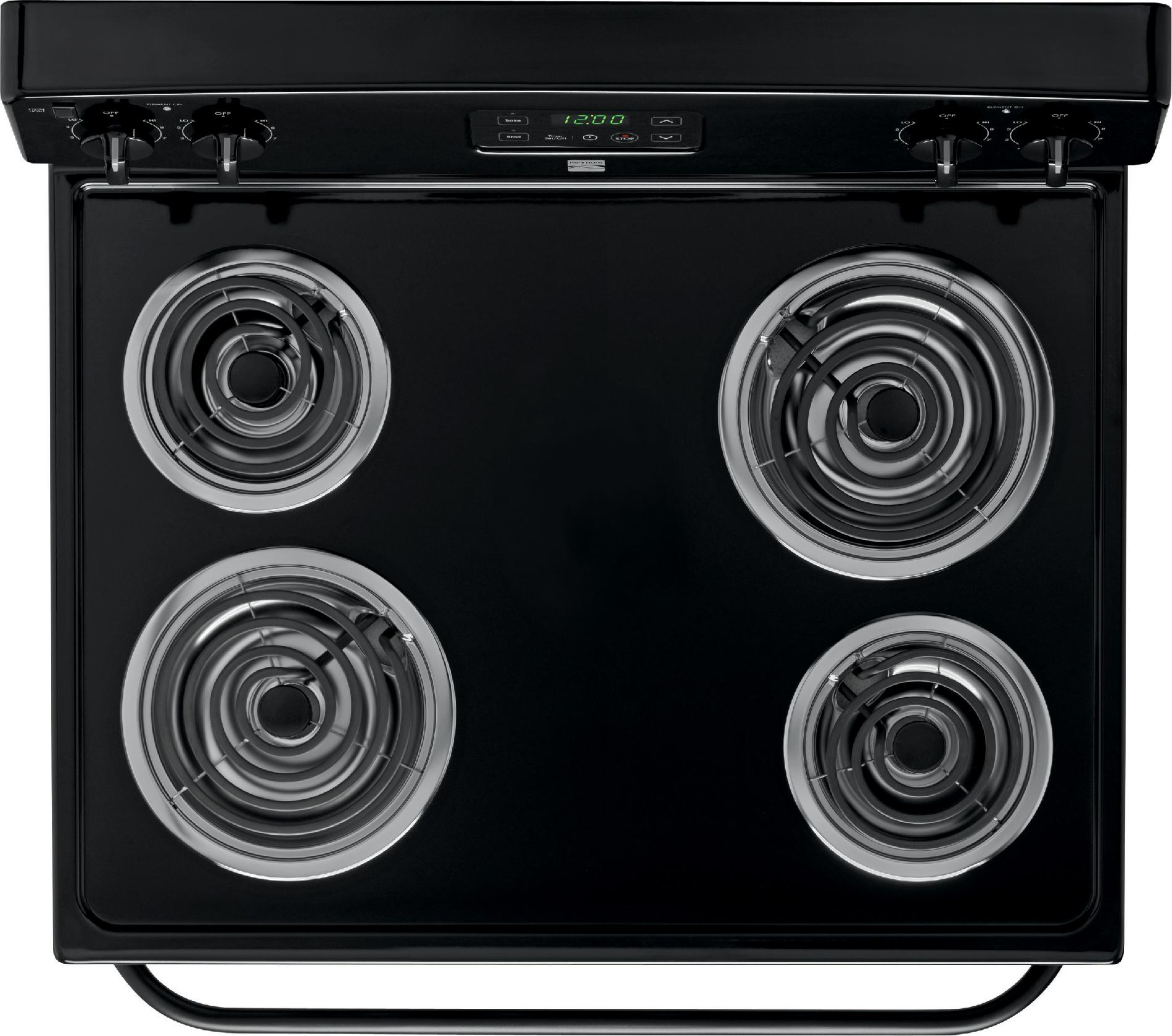 Kenmore 4.9 cu. ft. Electric Range - Black