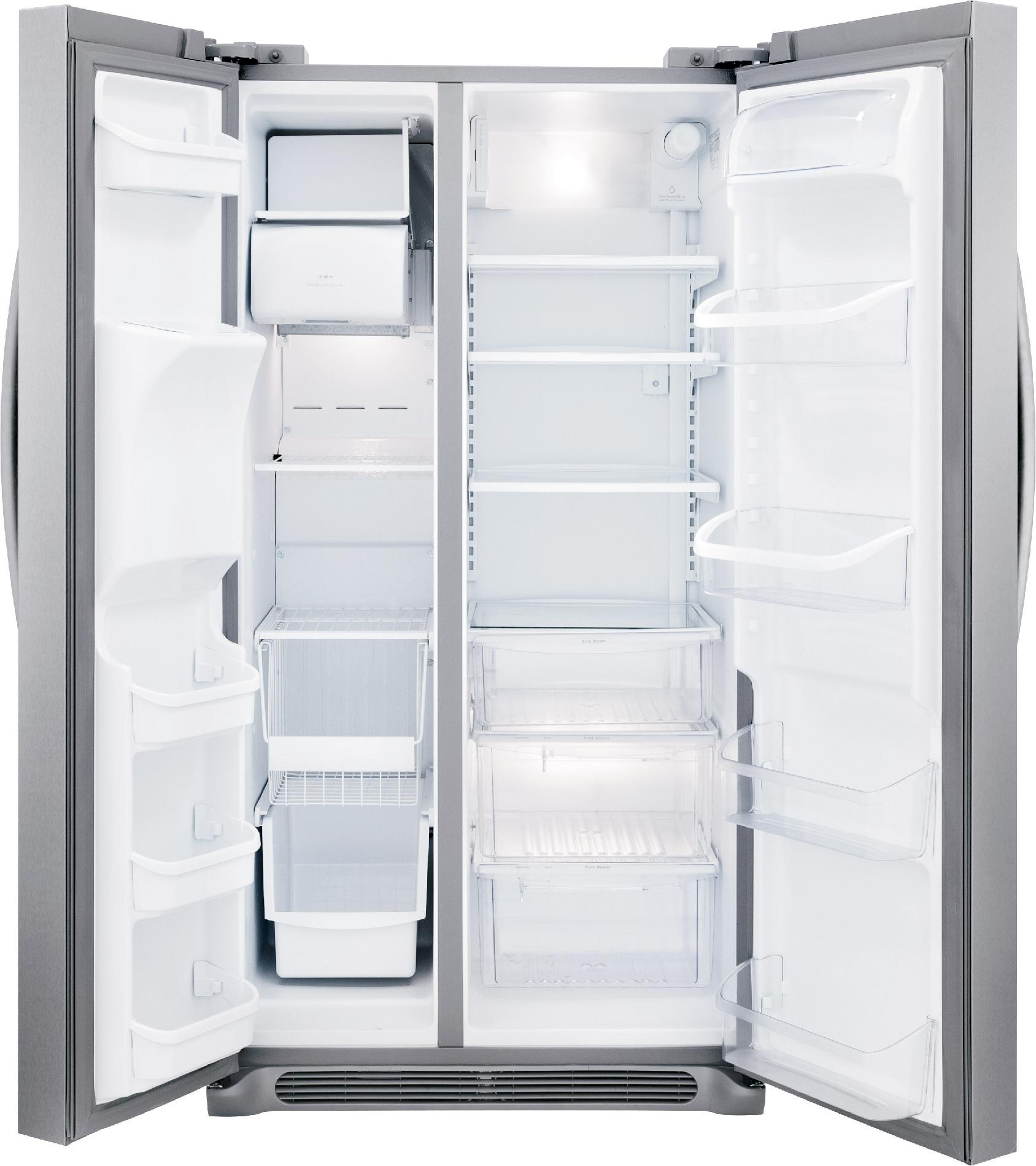 Frigidaire Gallery FGHS2631PF 25.6 cu. ft. Gallery Side-by-Side Refrigerator - Stainless Steel