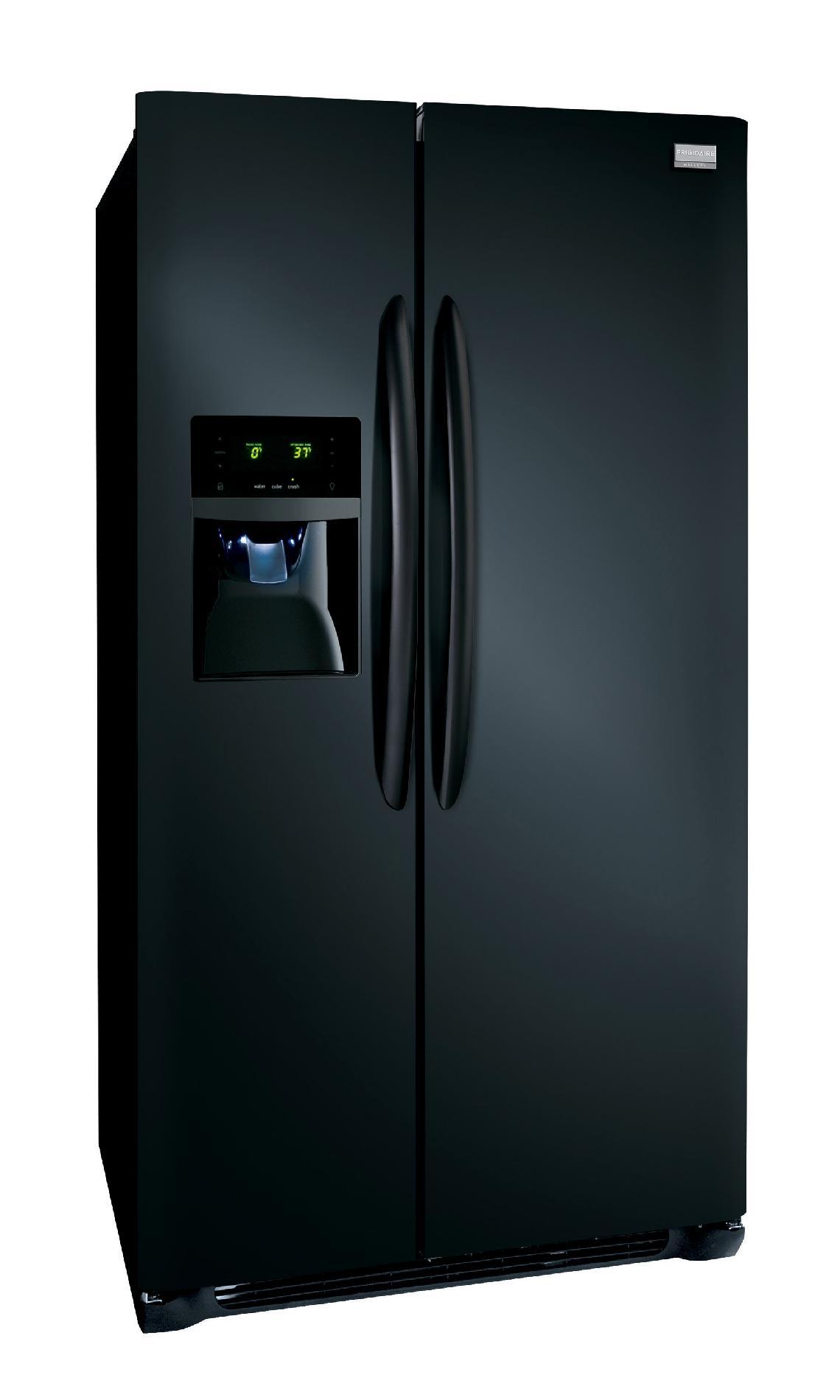 Frigidaire Gallery Gallery 26.0 cu. ft. Side-by-Side Refrigerator - Black