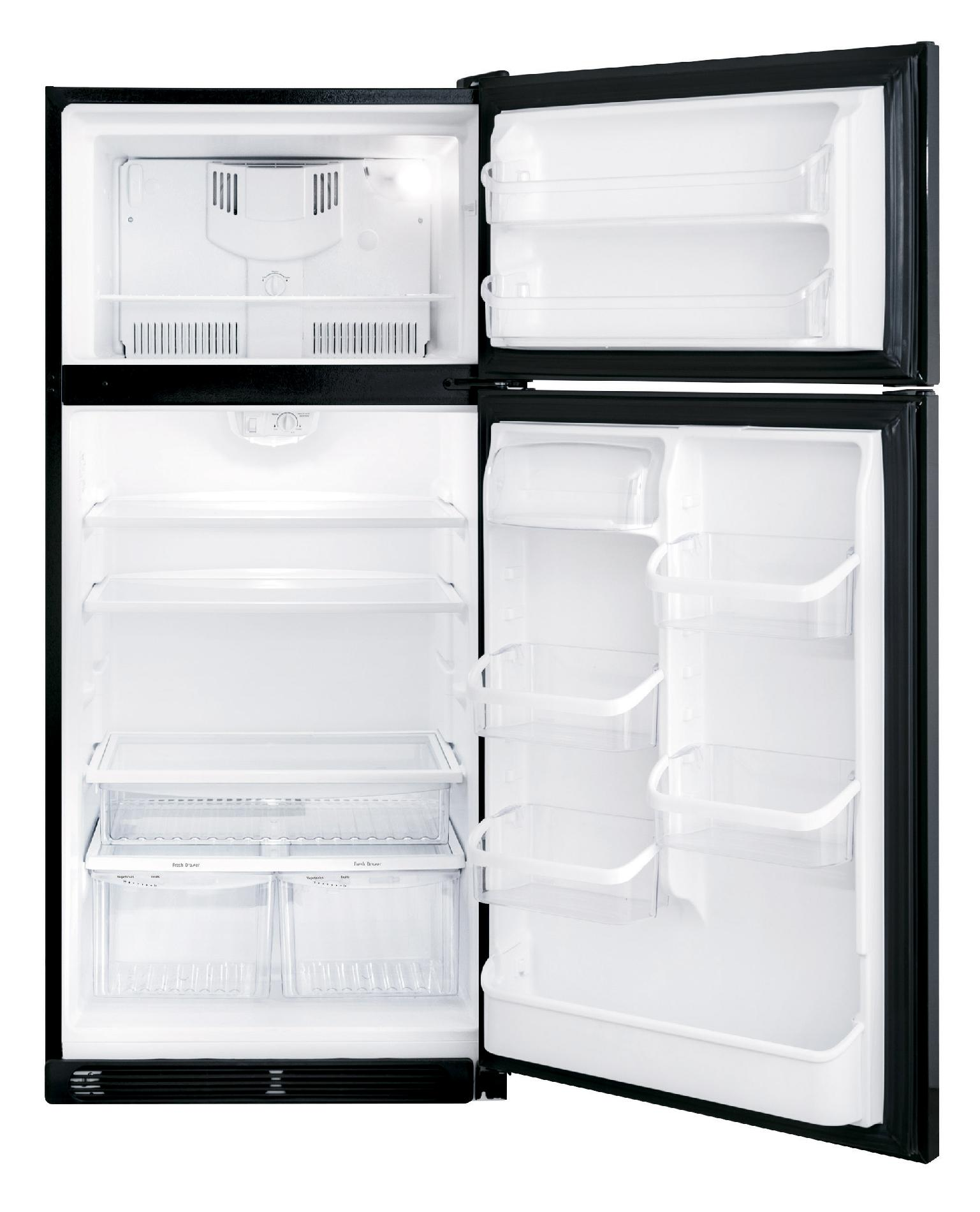 Frigidaire Gallery Gallery 18.3 cu. ft. Top-Freezer Refrigerator - Ebony Black