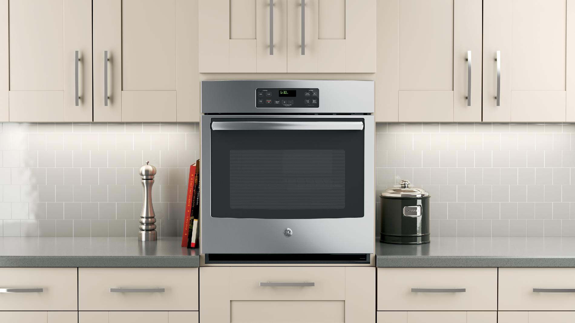 "GE 27"" Single Electric Wall Oven - Stainless Steel"