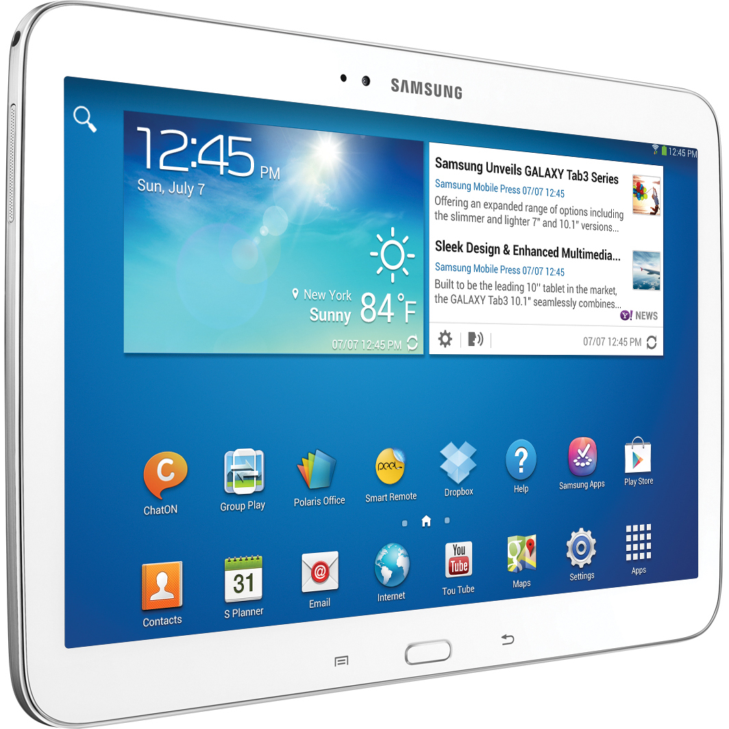 Samsung 10.1 in. Galaxy Tab 3, 16GB GT-P5210ZWYXAR