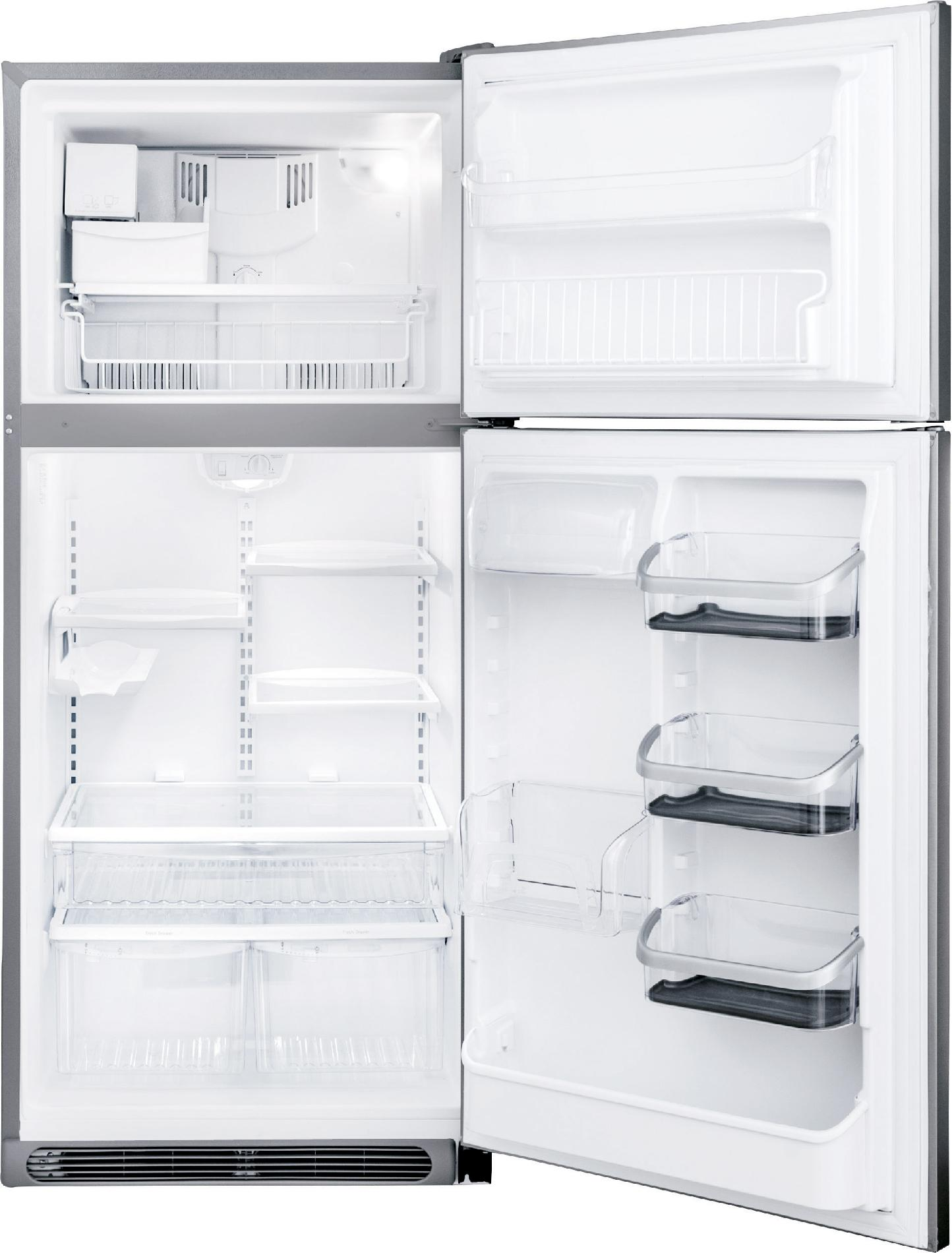 Frigidaire Professional 20.6 cu. ft. Top-Freezer Refrigerator - Stainless Steel