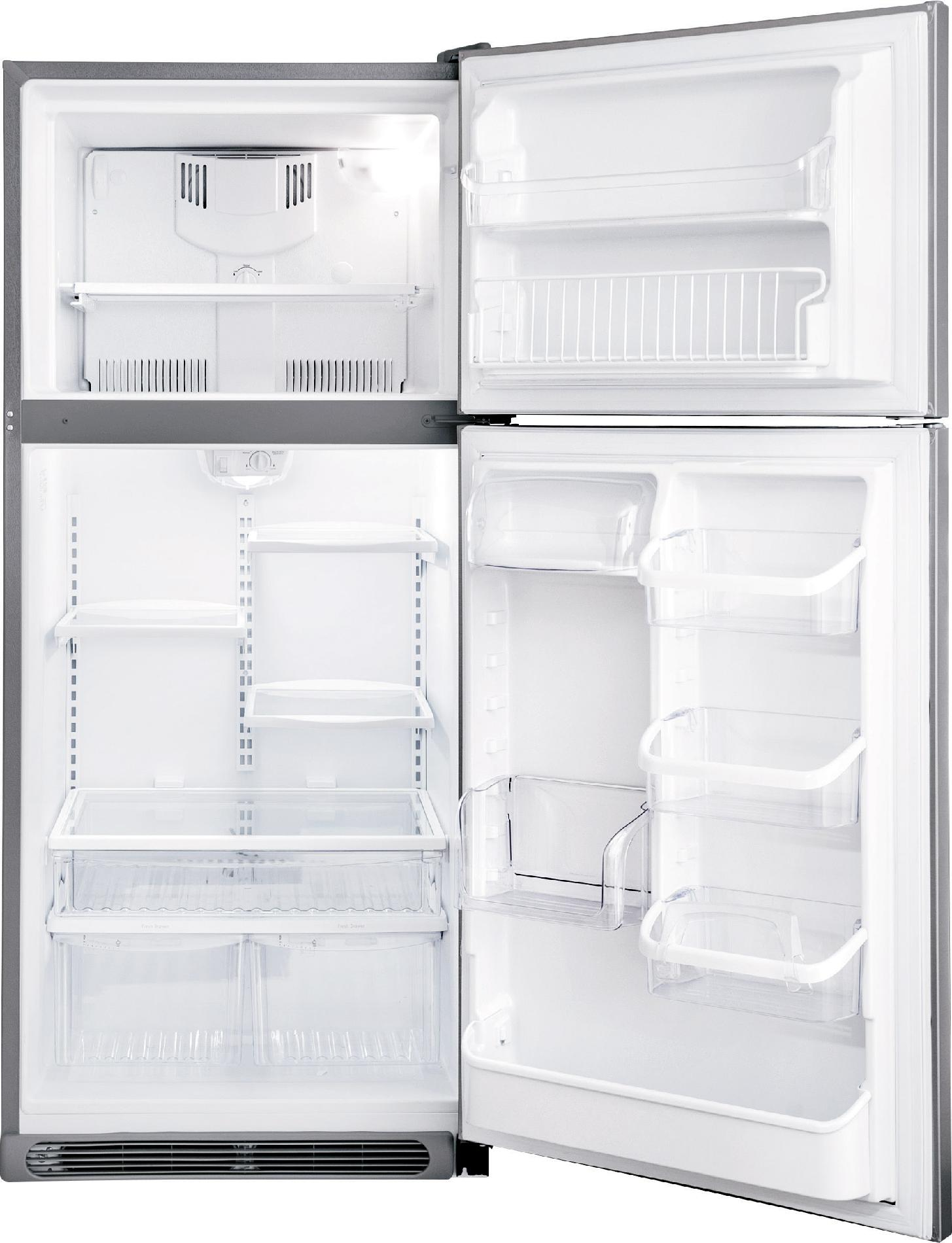 Frigidaire Gallery Gallery 20.6 cu. ft. Top-Freezer Refrigerator - Stainless Steel
