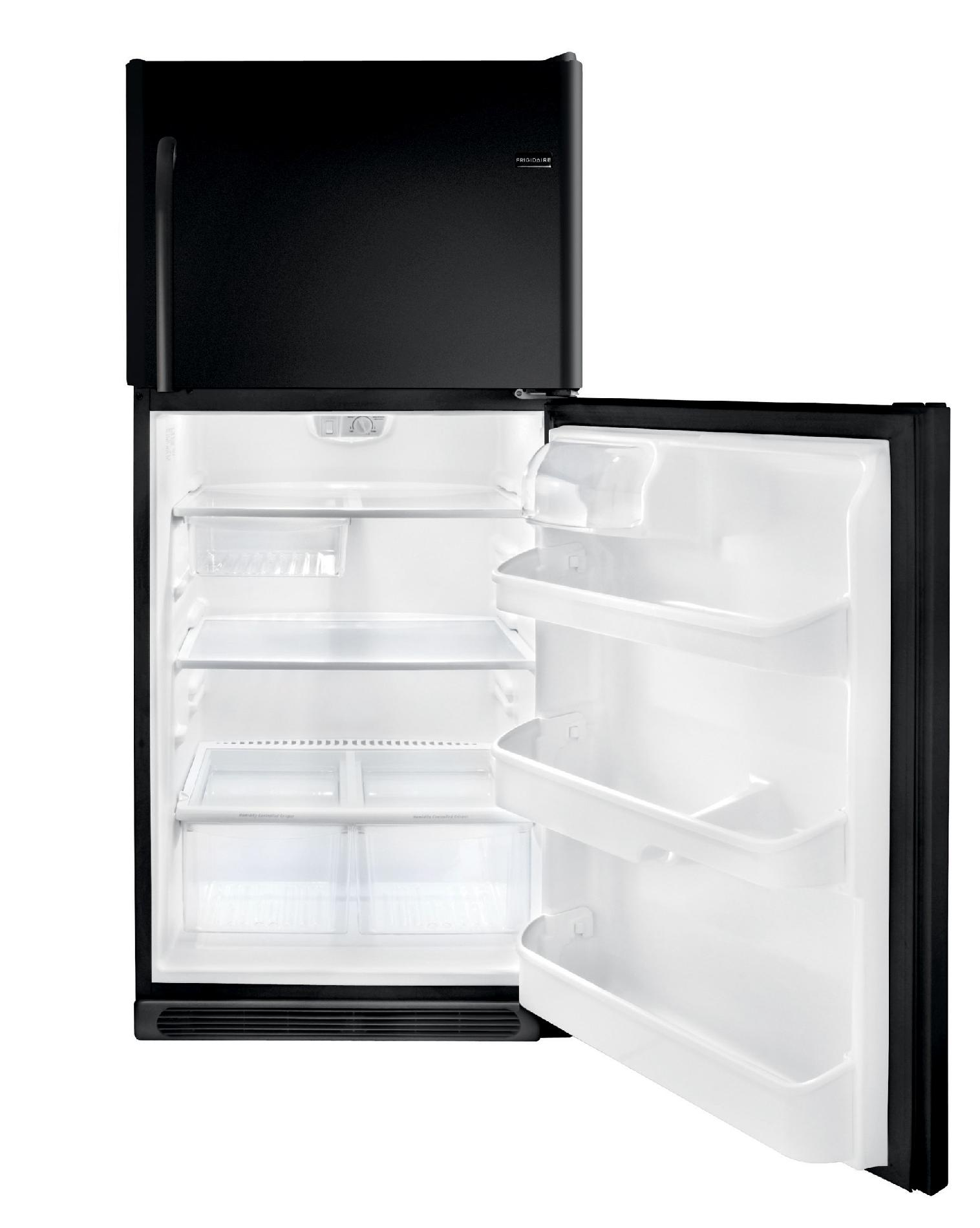Frigidaire 20.6 cu. ft. Top-Freezer Refrigerator - Black