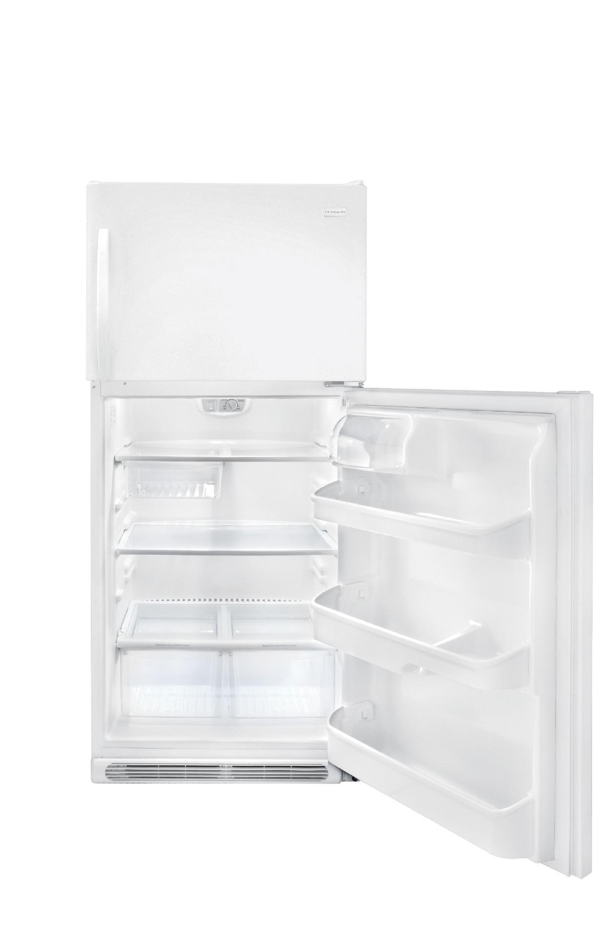 Frigidaire 20.6 cu. ft. Top-Freezer Refrigerator - White