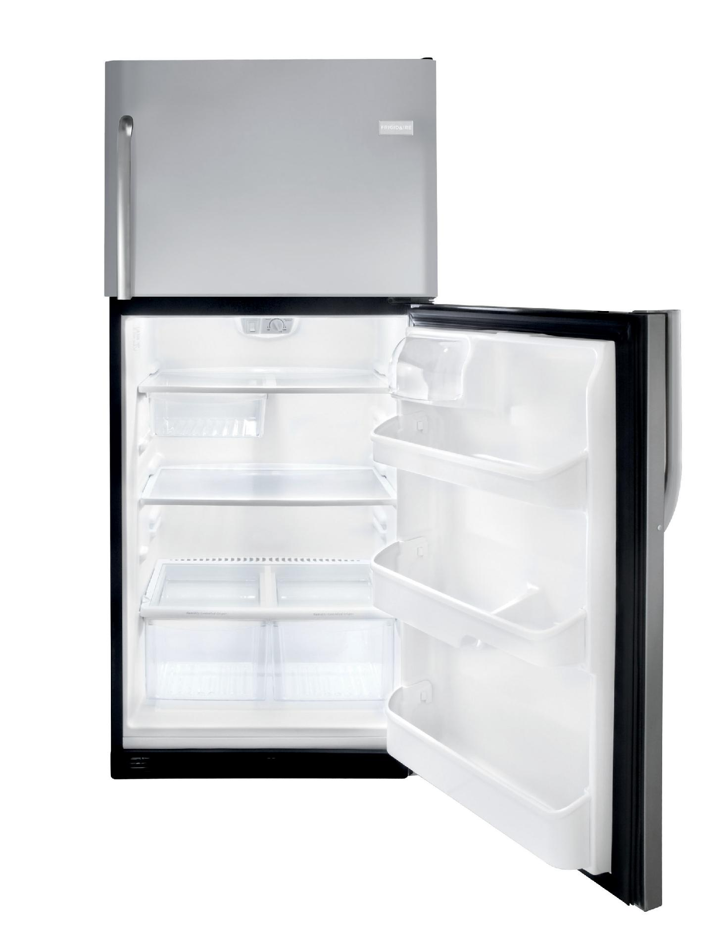 Frigidaire 20.6 cu. ft. Top-Freezer Refrigerator - Stainless Steel