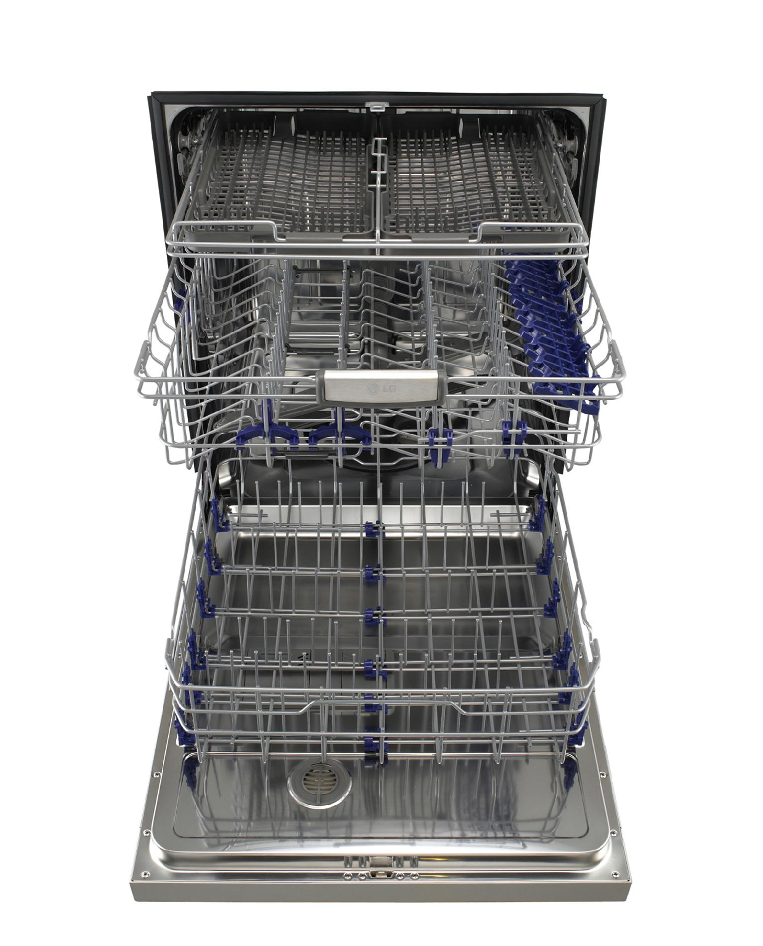 "LG 24"" Built-In Dishwasher w/ SenseClean™ - Stainless Steel"