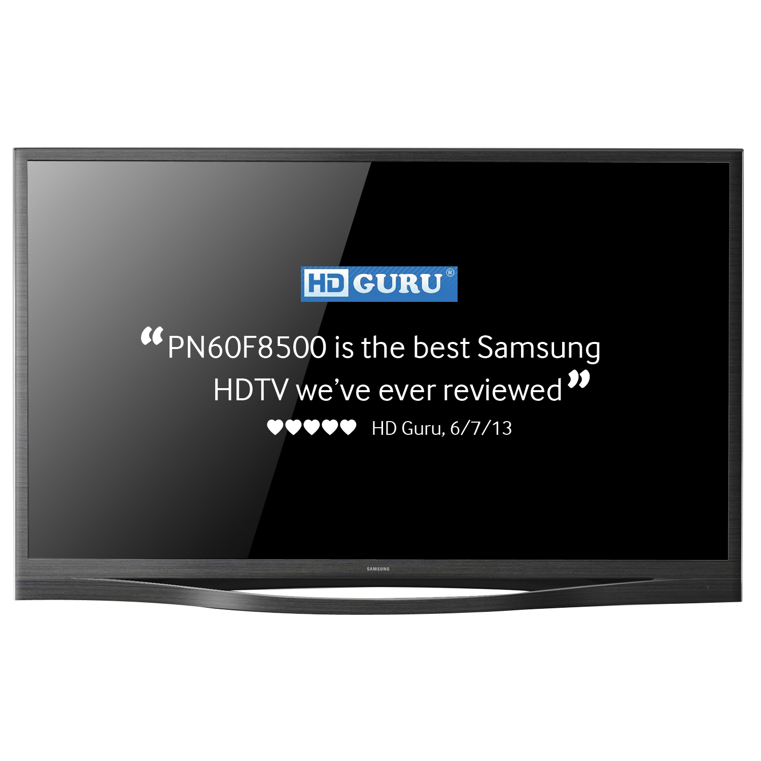 "Samsung 64"" Class 3D Smart Plasma HDTV with Glasses - PN64F8500"
