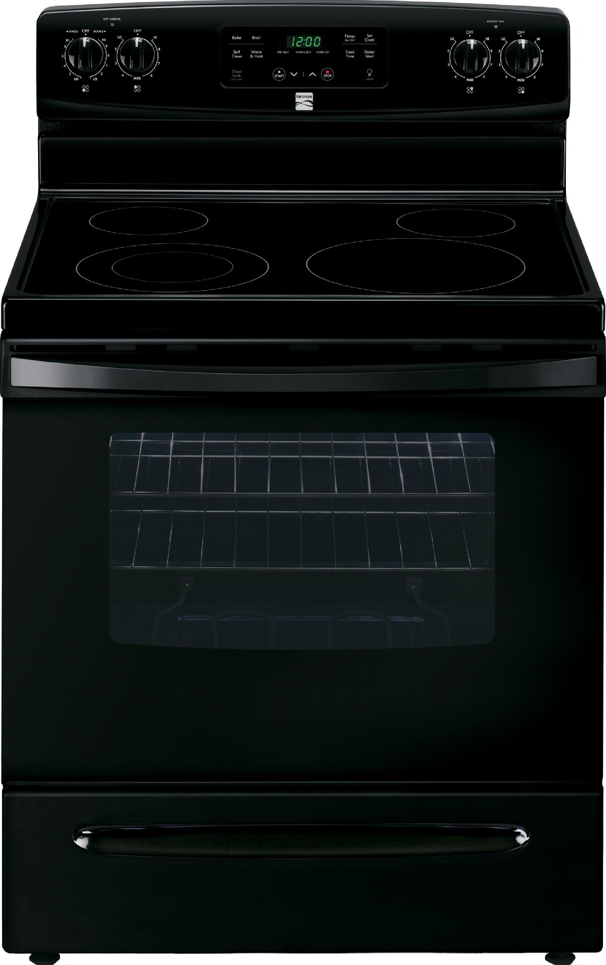 Kenmore 94179 5.3 cu. ft. Self-Cleaning Electric Range - Black