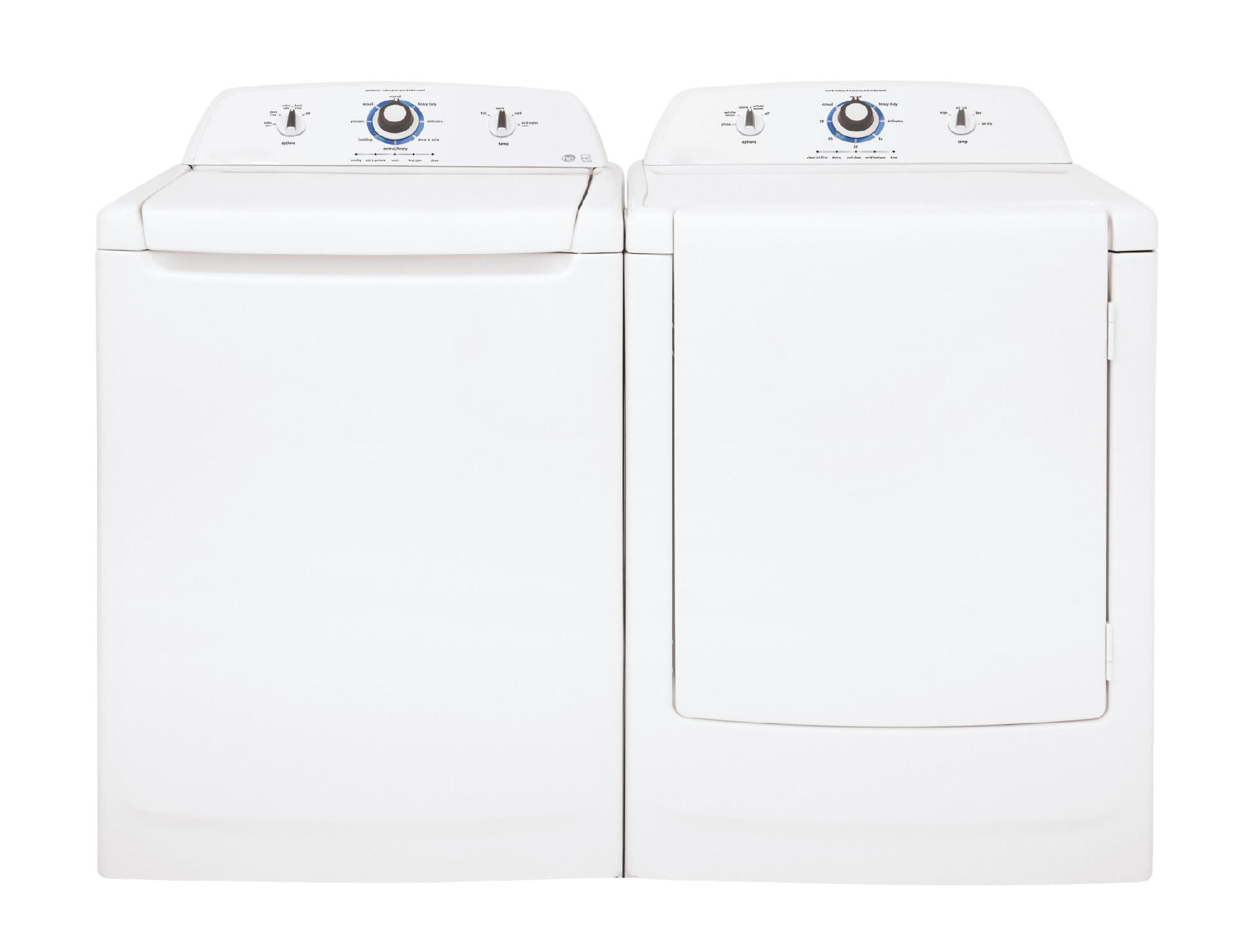 A well-known brand 7.0 cu. ft. Electric Dryer w/ Wrinkle Release - White