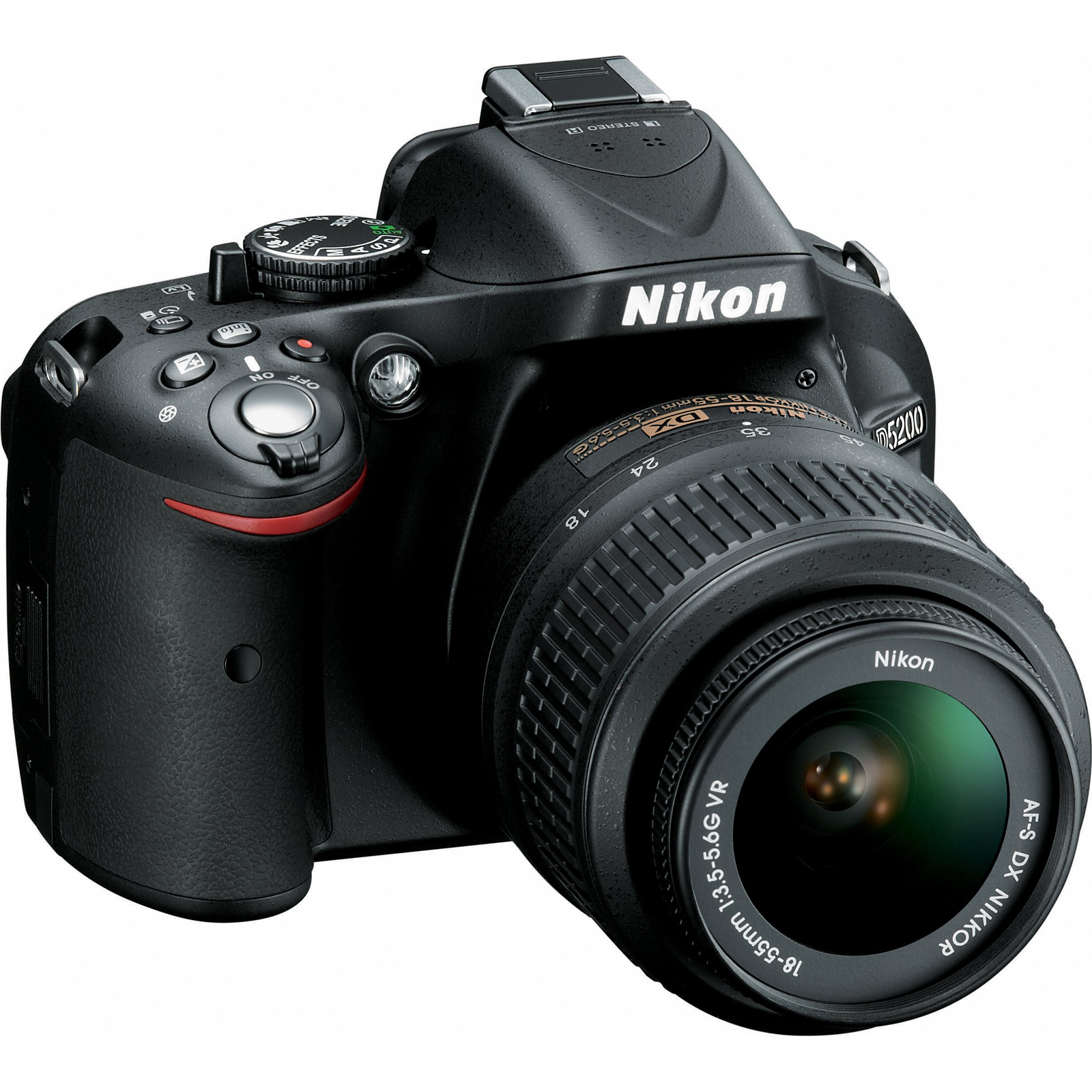 Nikon 24.1-Megapixel D5200 HD-DSLR Camera