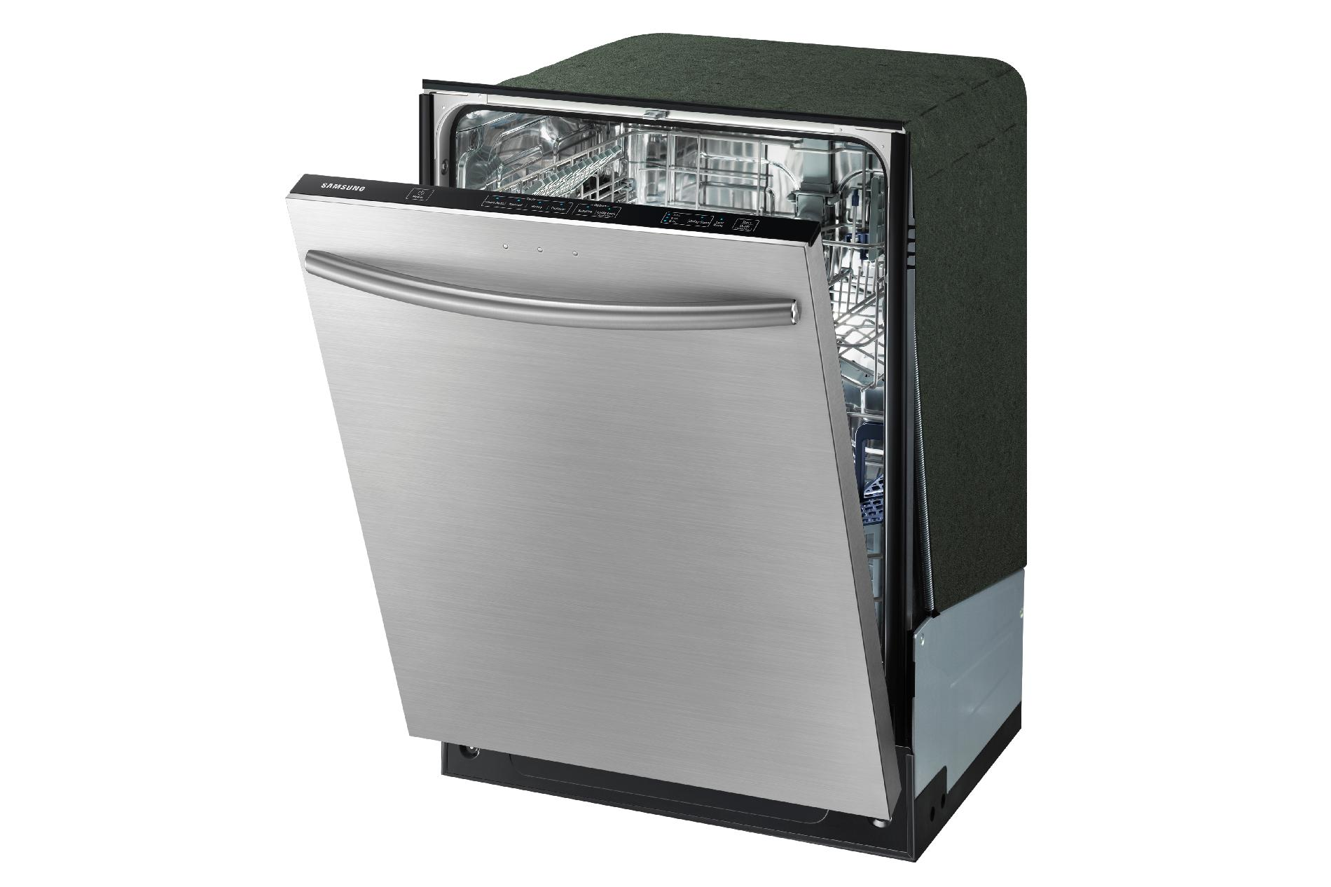 """Samsung 24"""" Built-In Dishwasher w/ Stainless Steel Tub - Stainless Steel"""
