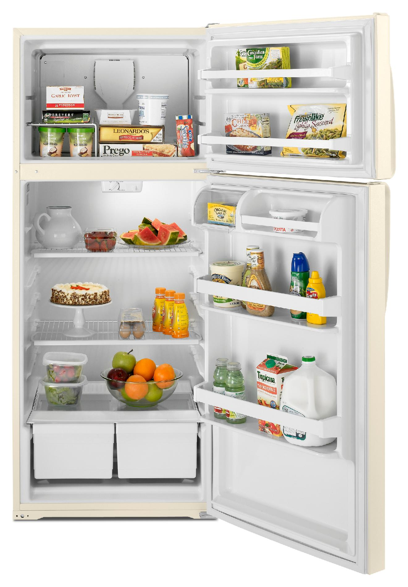 Whirlpool 17.6 cu. ft. Top-Freezer Refrigerator - Bisque