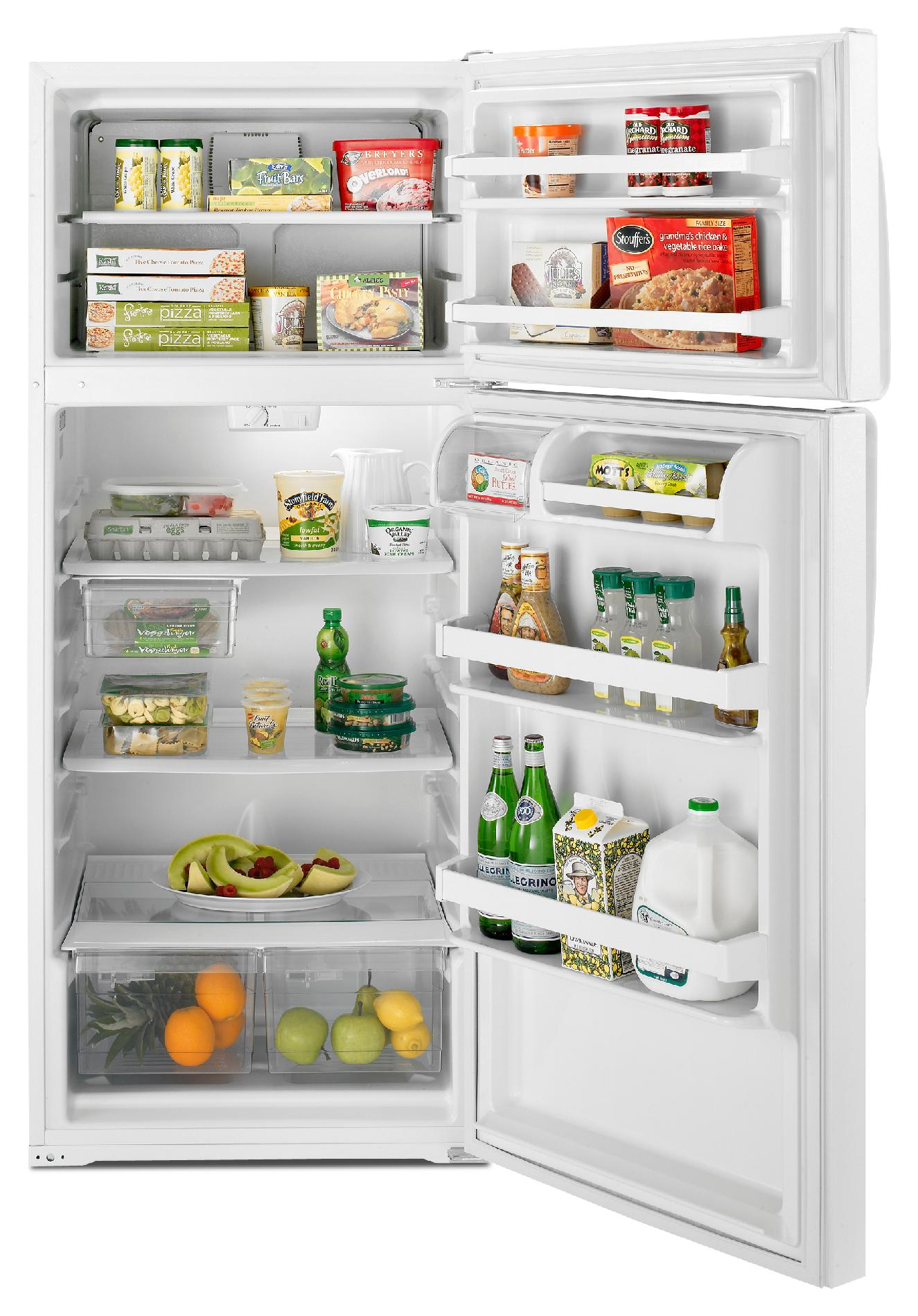 Whirlpool 17.6 cu. ft. Top-Freezer Refrigerator - White