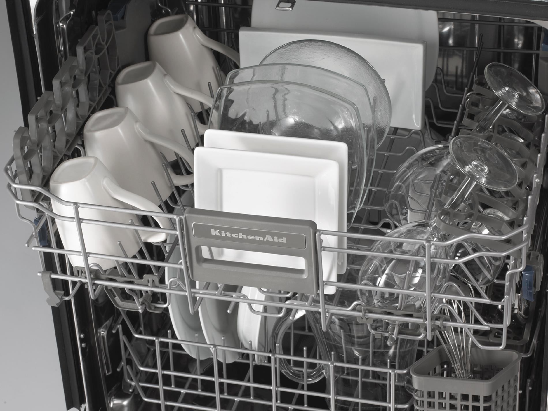 "KitchenAid 24"" Superba® EQ Built-In Dishwasher - White"