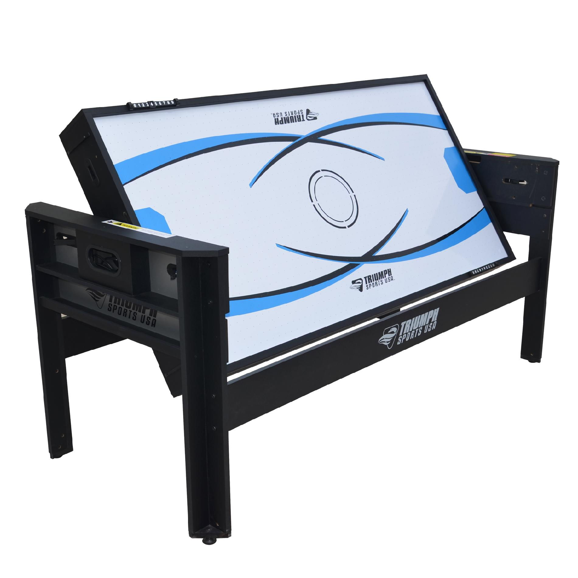 Triumph Sports 6Ft. 4-in-1 Evolution Multi Game Swivel Table