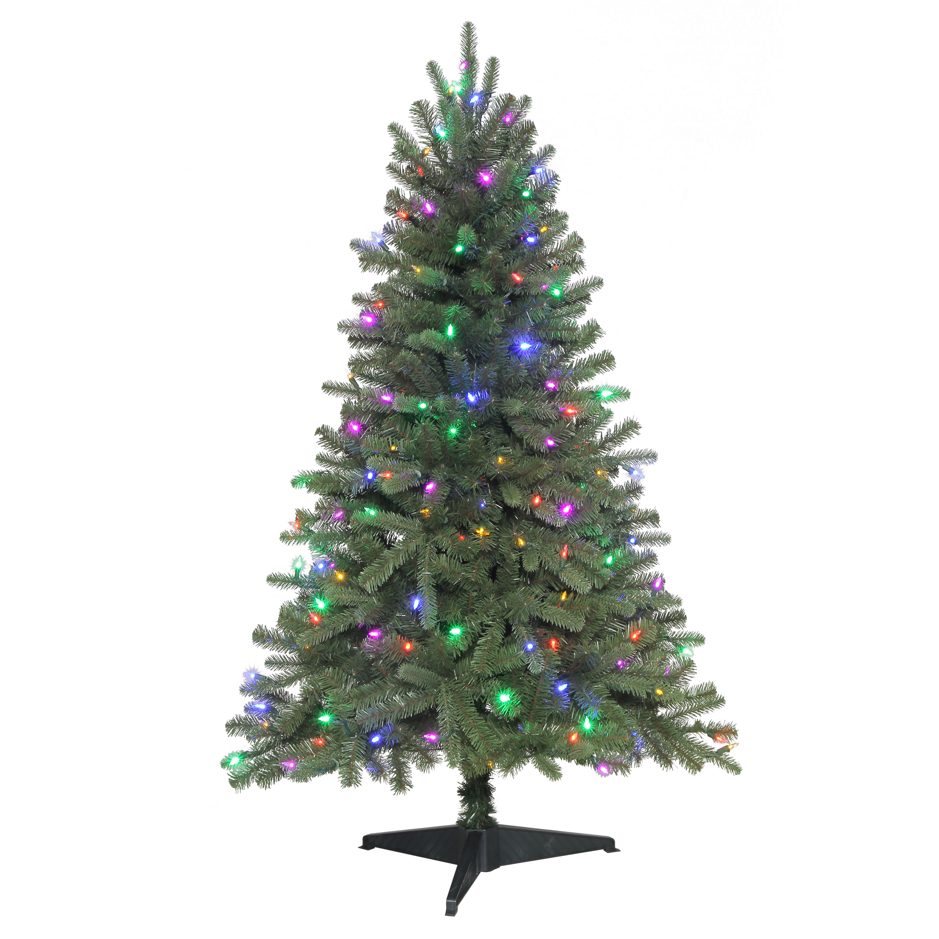 Color Switch Plus 4.5 Ft Pre-Lit Color Switch Plus Sonoma Spruce Christmas Tree