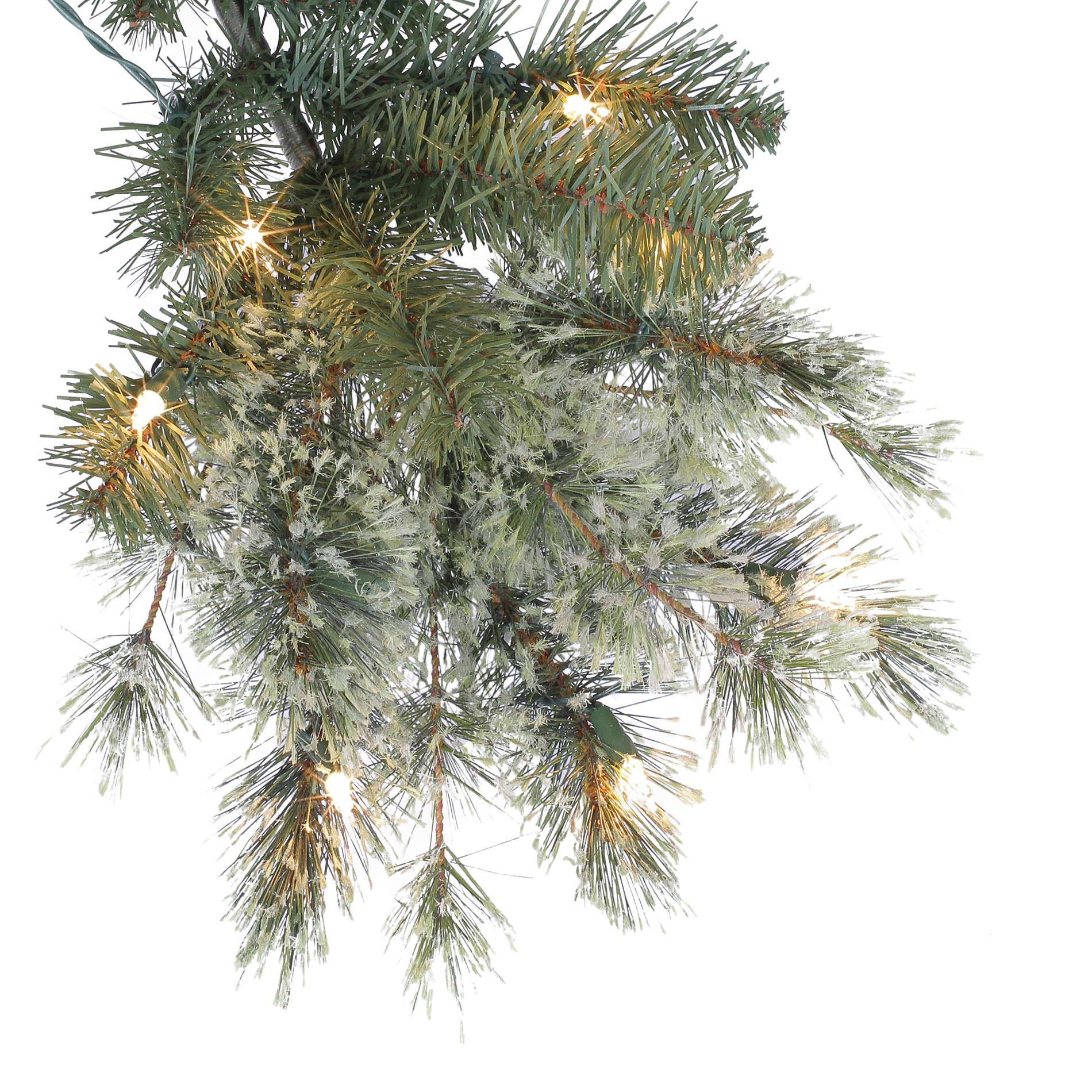 Donner and Blitzen 6.5' 350 Light Pre-lit Harrison Cashmere Christmas Tree
