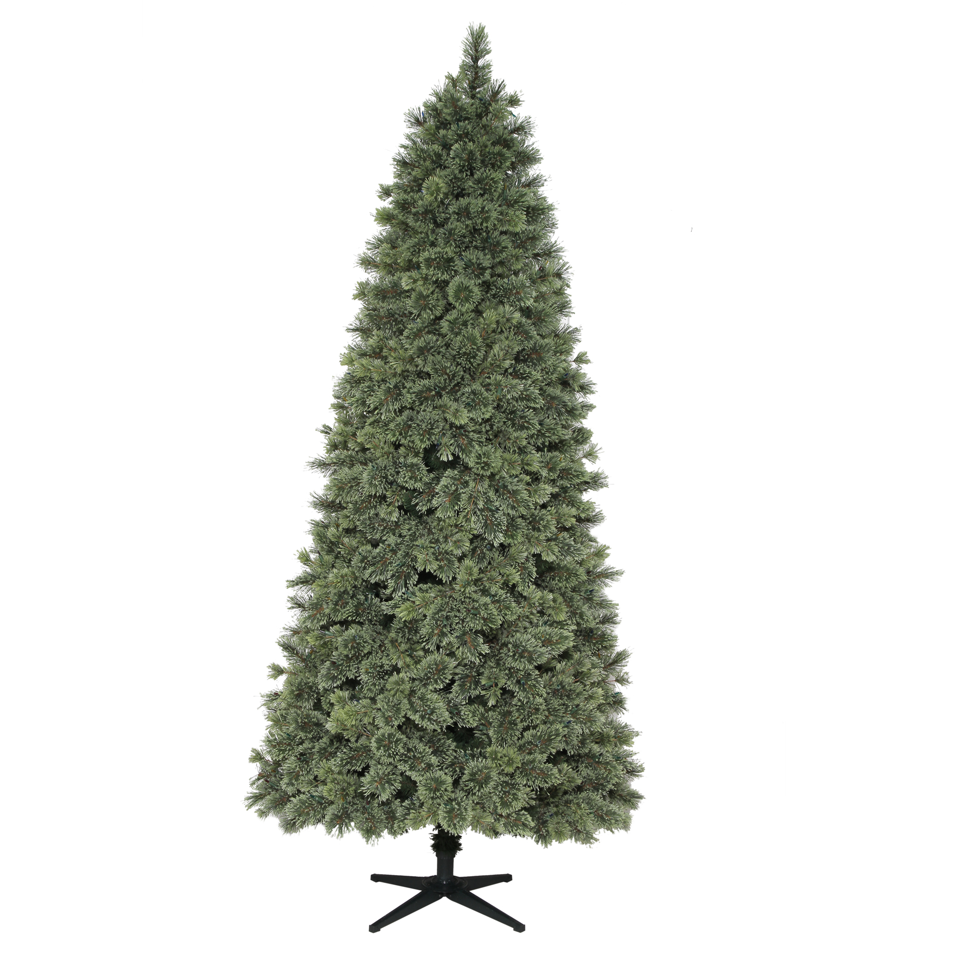 Donner and Blitzen 7.5' 600 Clear Light Pre-lit Harrison Cashmere Slim Mixed Pine Christmas Tree