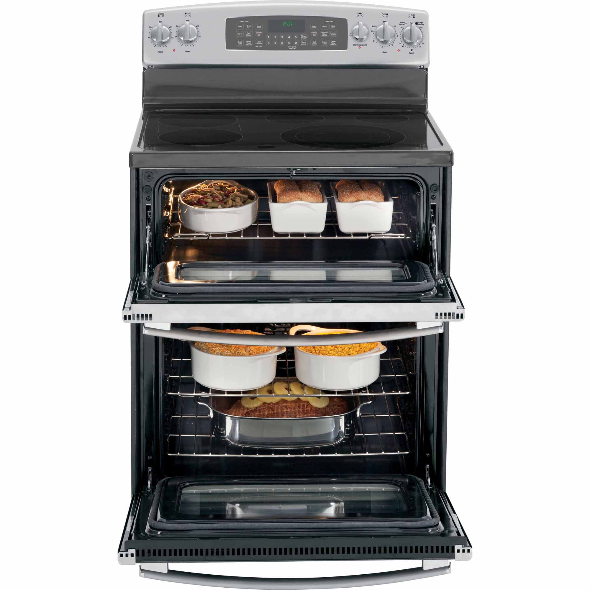GE Appliances 6.6 cu. ft. Electric Range w/ Convection Oven - Stainless