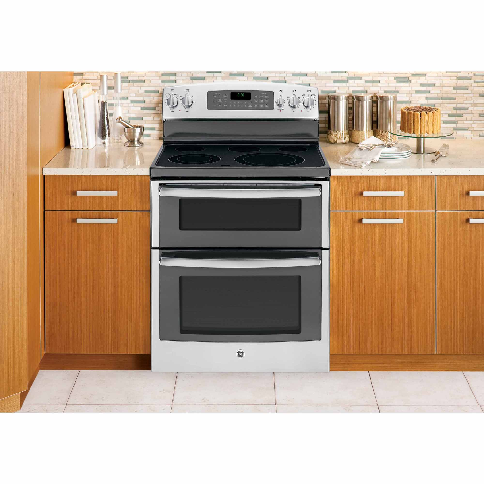 GE Appliances 6.6 cu. ft. Electric Range w/ Double Oven - Stainless