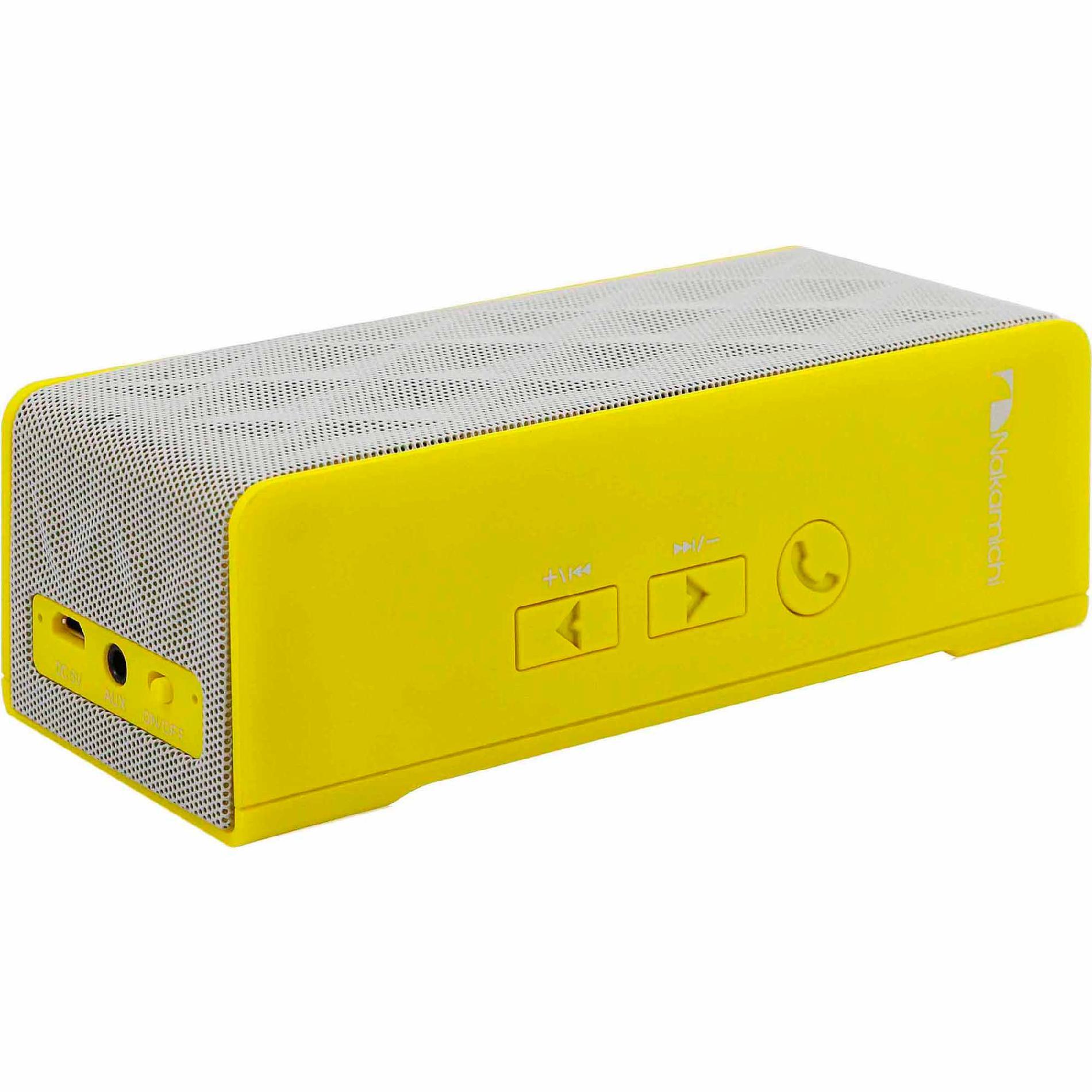 Nakamichi Bluetooth® Speaker BT04 - Yellow