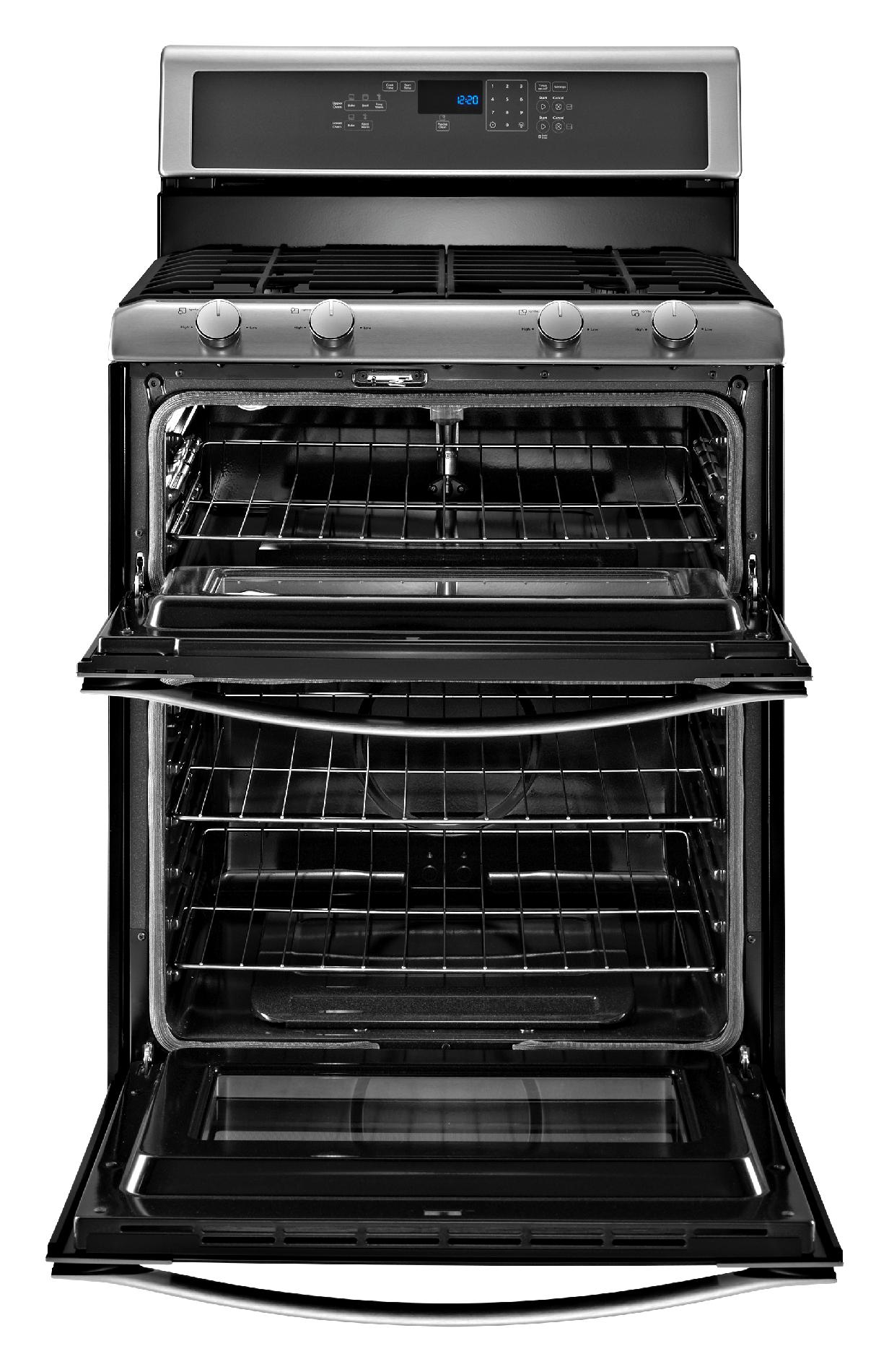Whirlpool WGG555S0BS 6.0 cu. ft. Gas Range w/ AccuBake™ System - Stainless Steel
