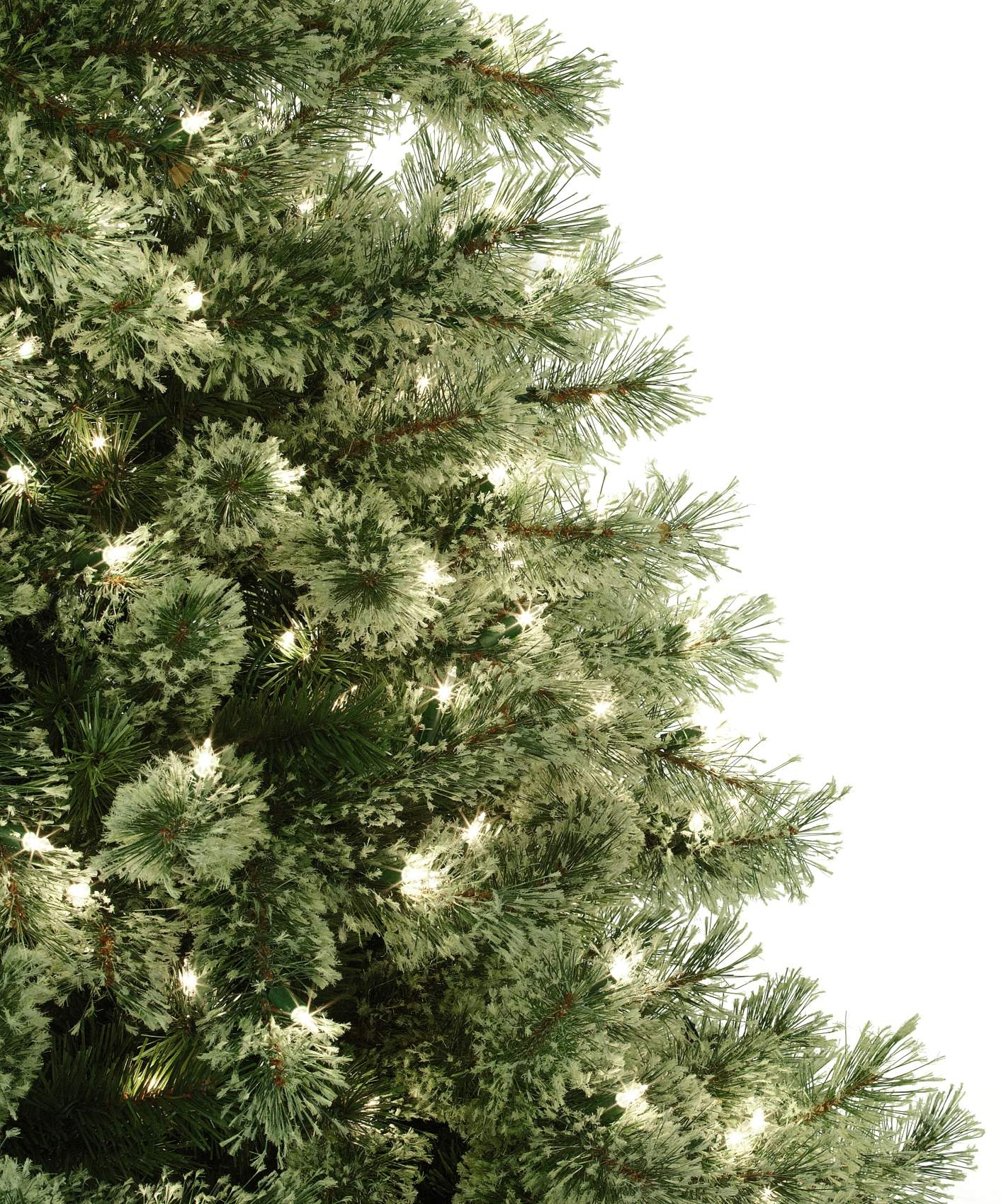 Donner and Blitzen 7.5' 600 Clear Light Pre-lit Sierra Cashmere Christmas Tree