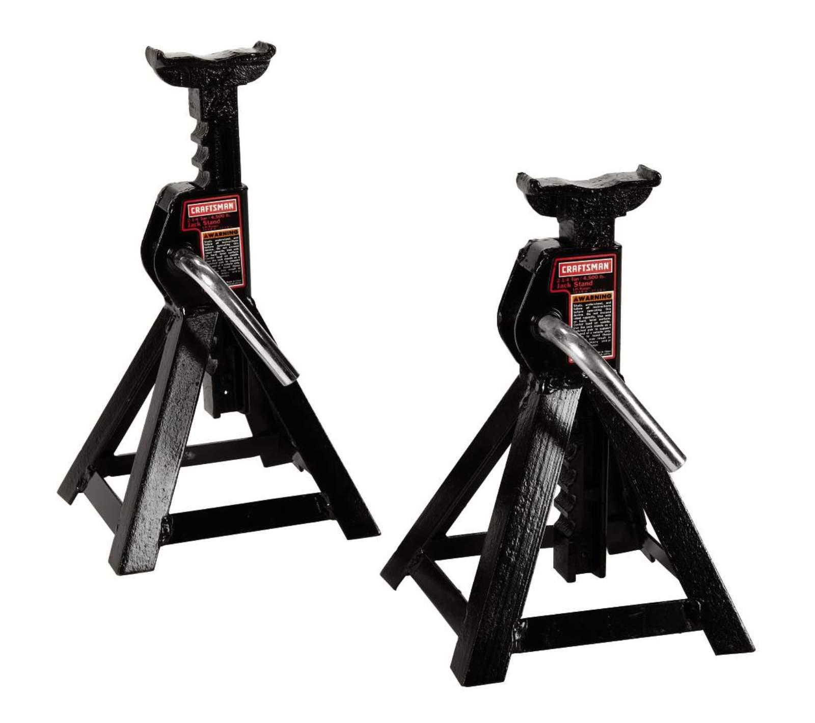 Craftsman 2-1/4 ton Jack Stands, 2 pk.