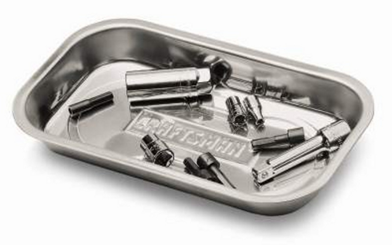 Craftsman Magnetic Tray, Stainless Steel