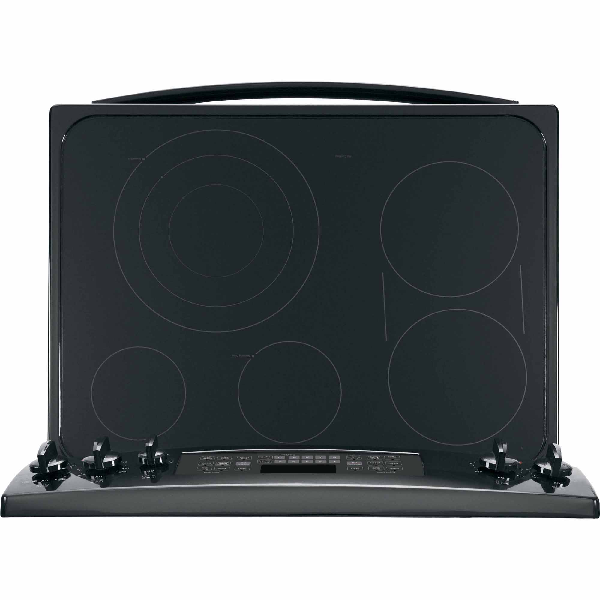GE Appliances 6.6 cu. ft. Electric Range w/ Convection Oven - Black