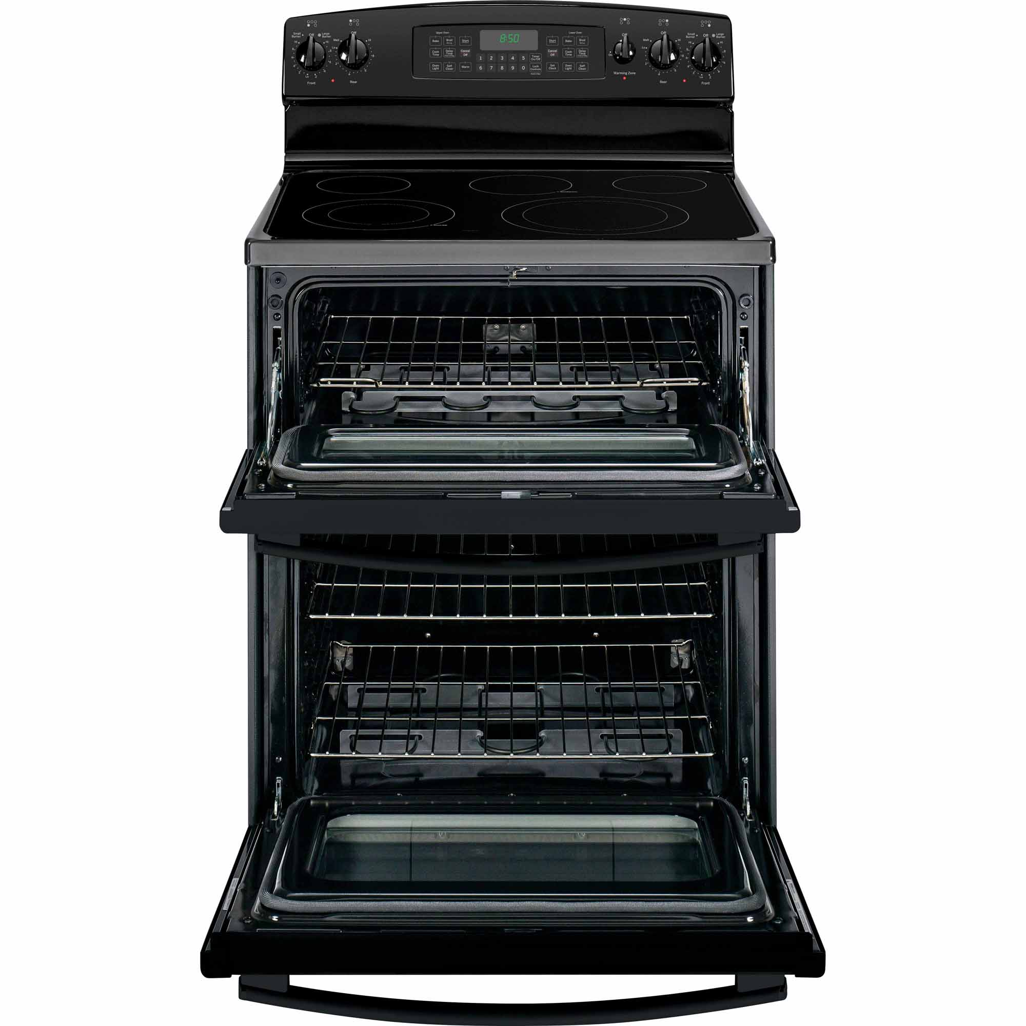 GE 6.6 cu. ft. Electric Range w/ Double Oven - Black