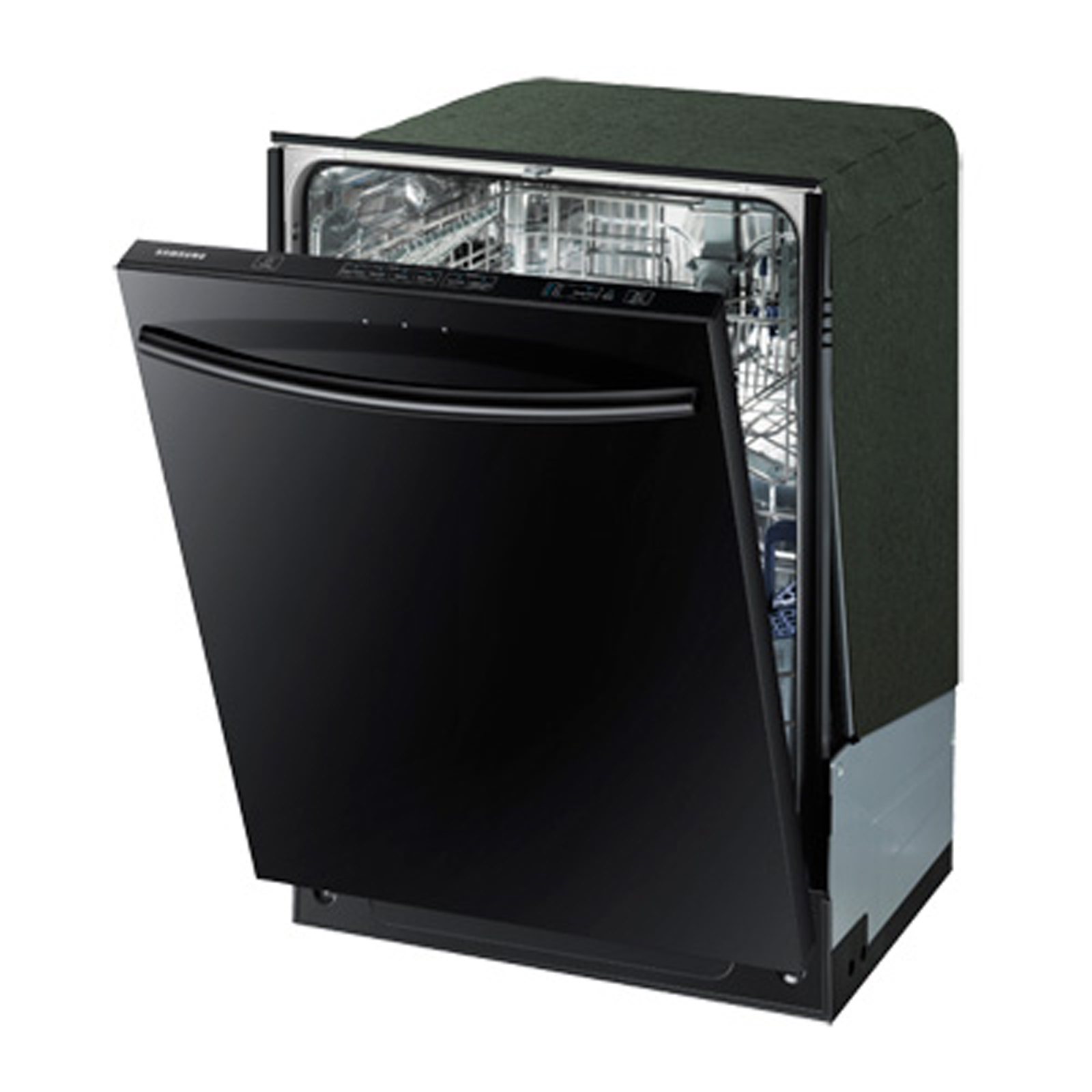 "Samsung 24"" Built-In Dishwasher w/ Stainless Steel Tub - Black"