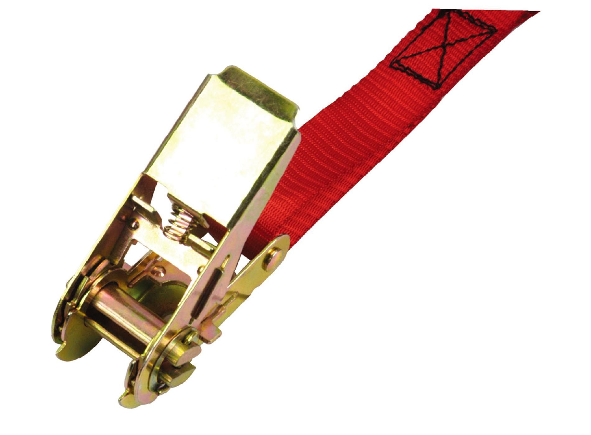 """Sears 4-Pack Red Ratchet Tie Down Set 1"""" x 10'"""