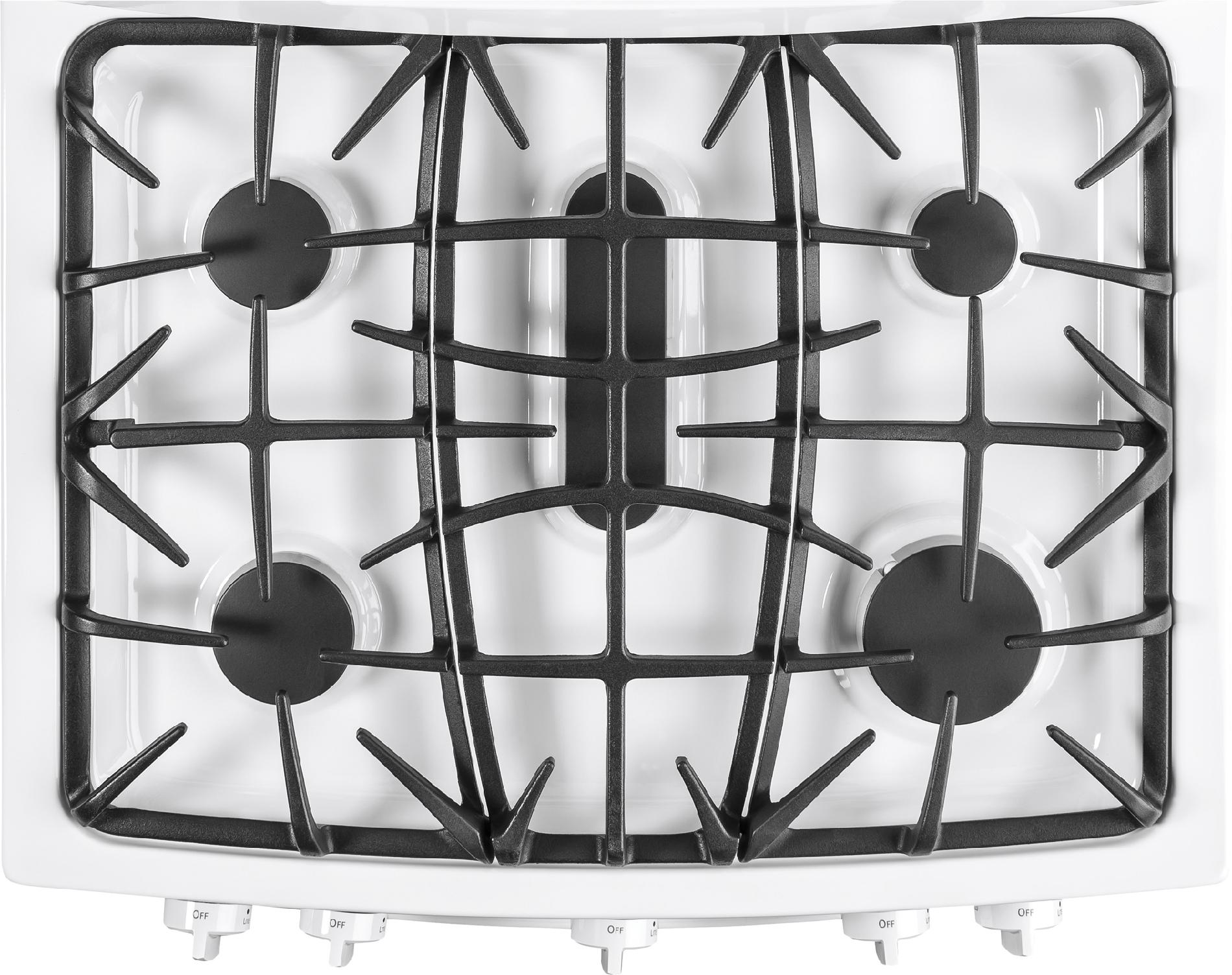 GE Appliances 6.8 cu. ft. Gas Range w/ Double Oven - White