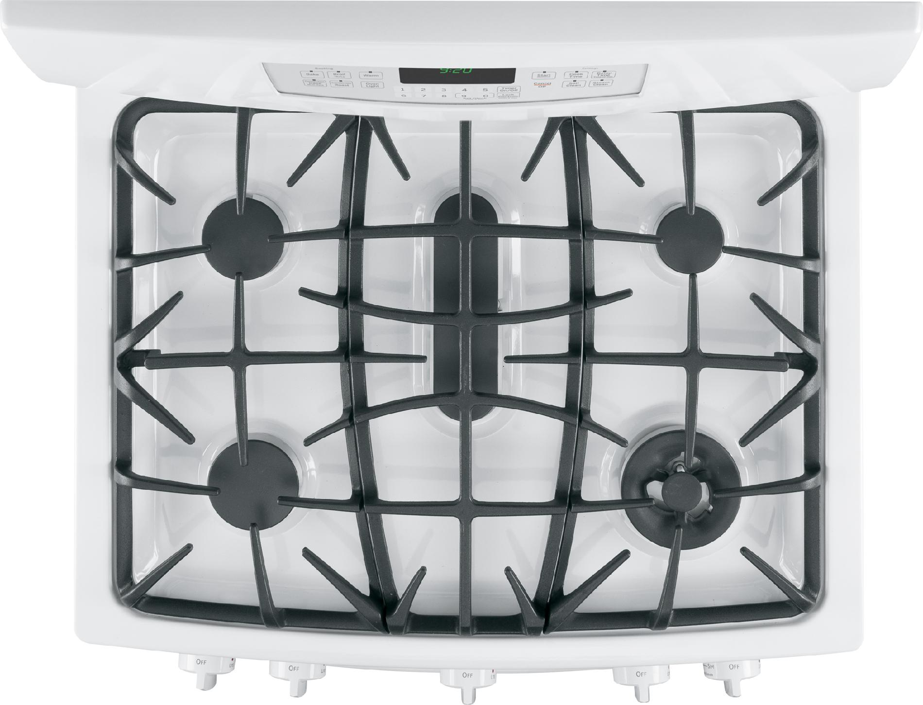 GE Profile 5.6 cu. ft. Gas Range w/ Convection - White