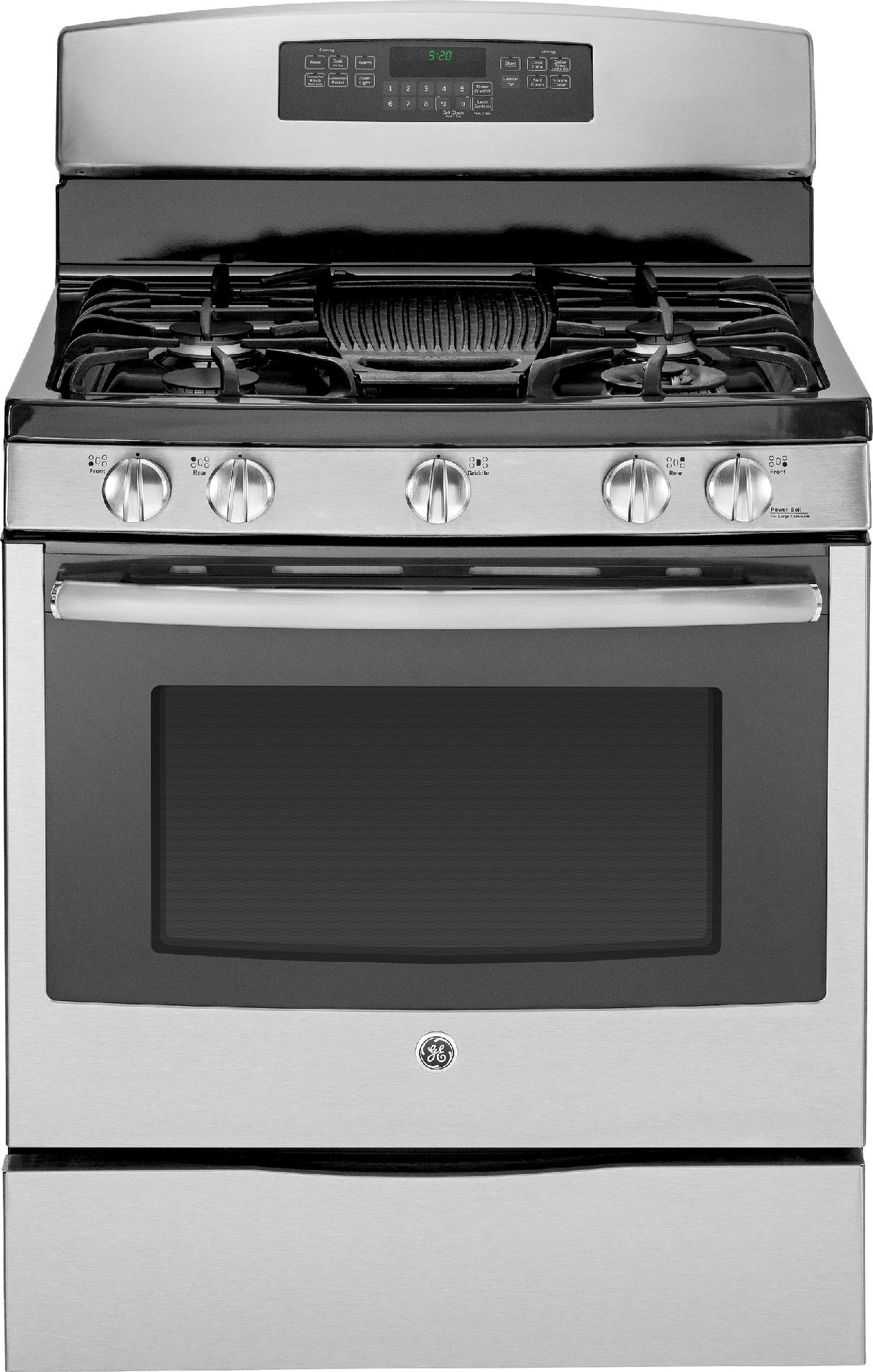 GE Profile 5.6 cu. ft. Gas Range w/ Convection - Stainless Steel
