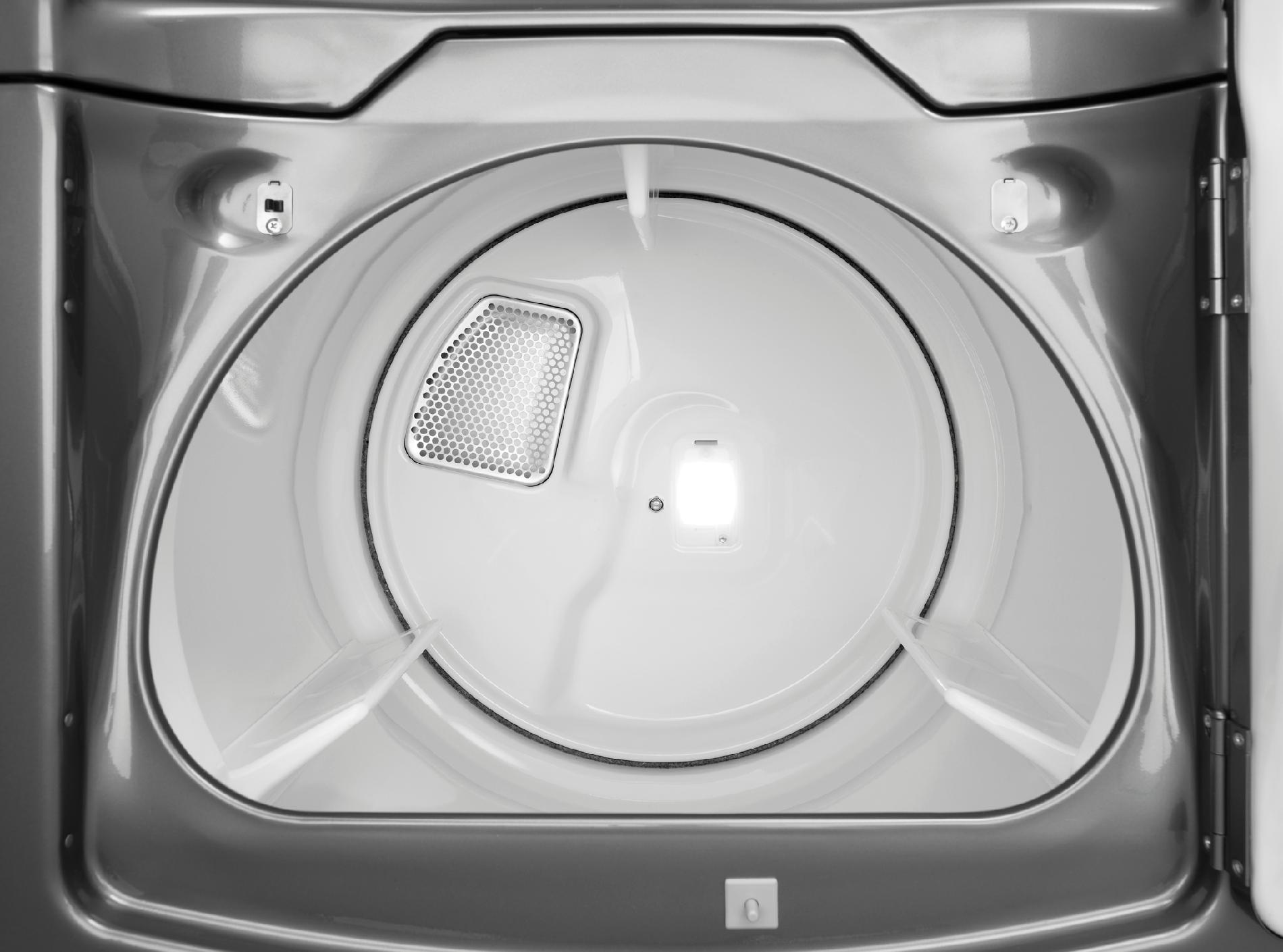 Whirlpool 7.6 cu. ft. Cabrio® Platinum Gas Dryer w/ Enhanced Touch-Up Steam Cycle - Chrome Shadow