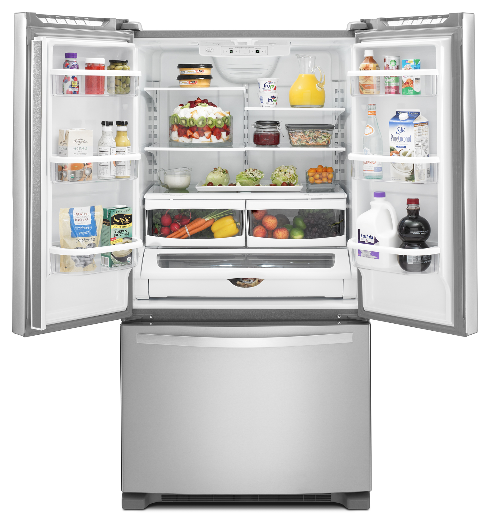 Whirlpool WRF535SMBM 25 cu. ft. French Door Refrigerator  - Stainless Steel