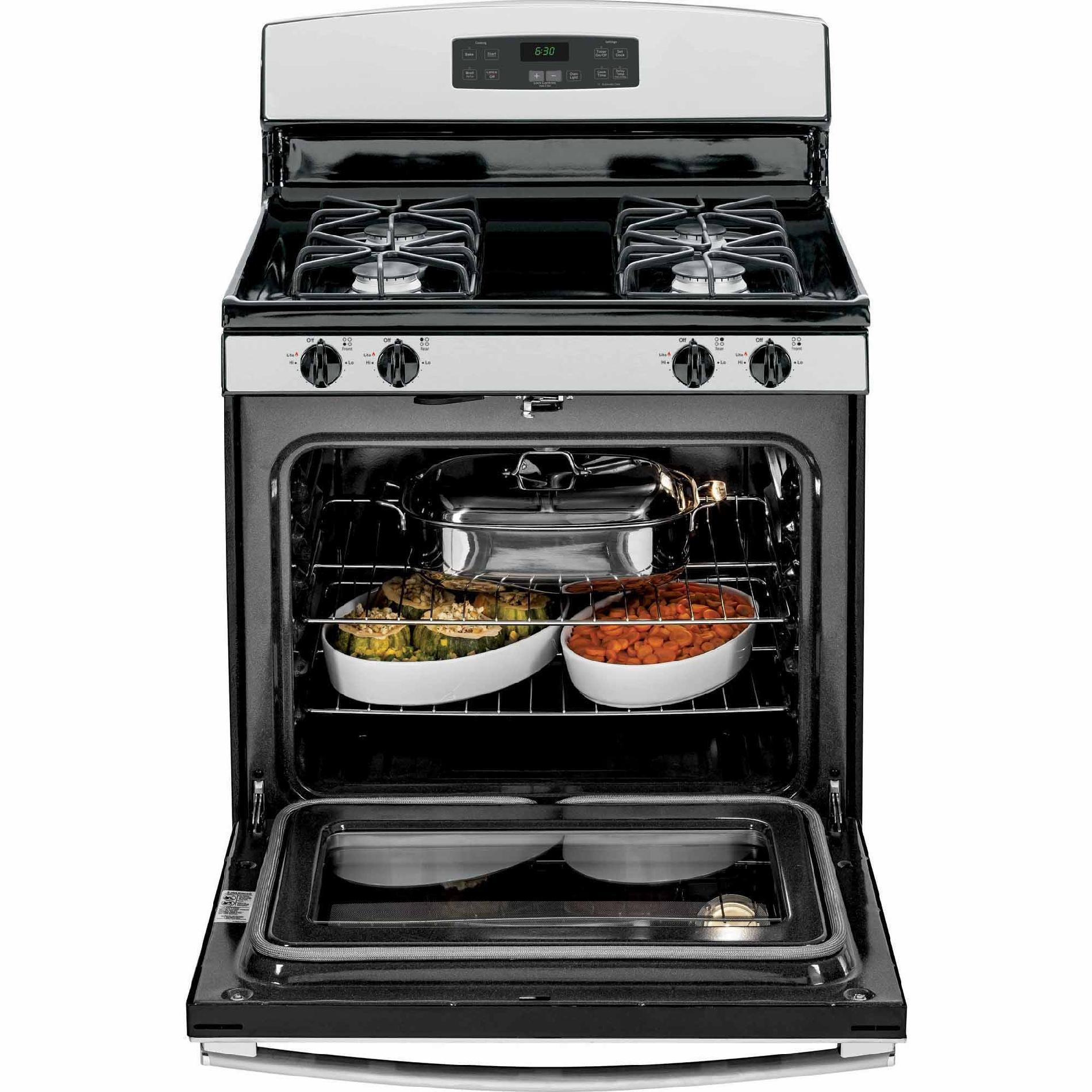 GE Appliances JGB630REFSS 5.0 cu. ft. Gas Range - Stainless Steel