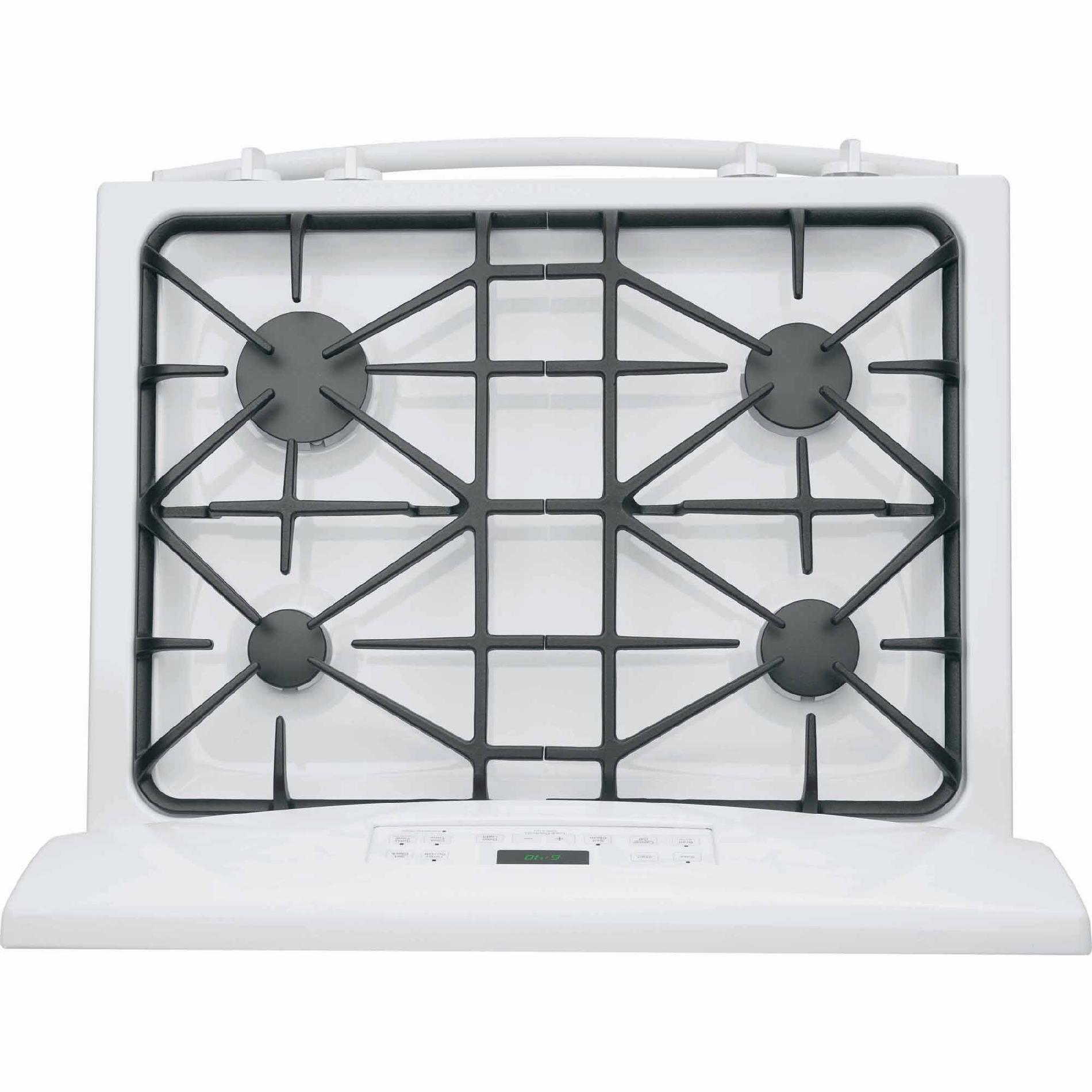 GE Appliances JGB640DEFWW 5.0 cu. ft. Gas Range - White