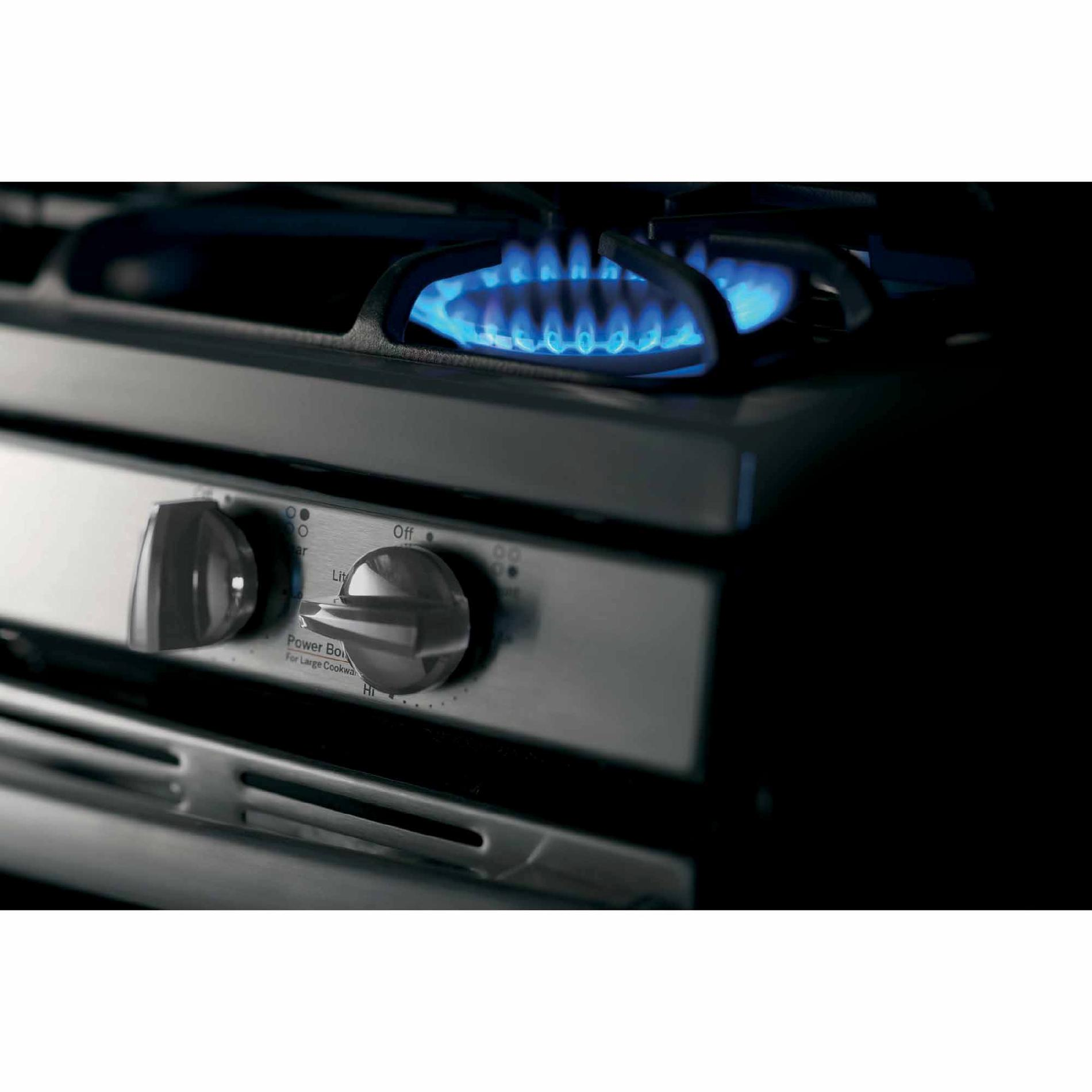 GE Appliances JGB640SEFSS 5.0 cu. ft. Gas Range - Stainless Steel
