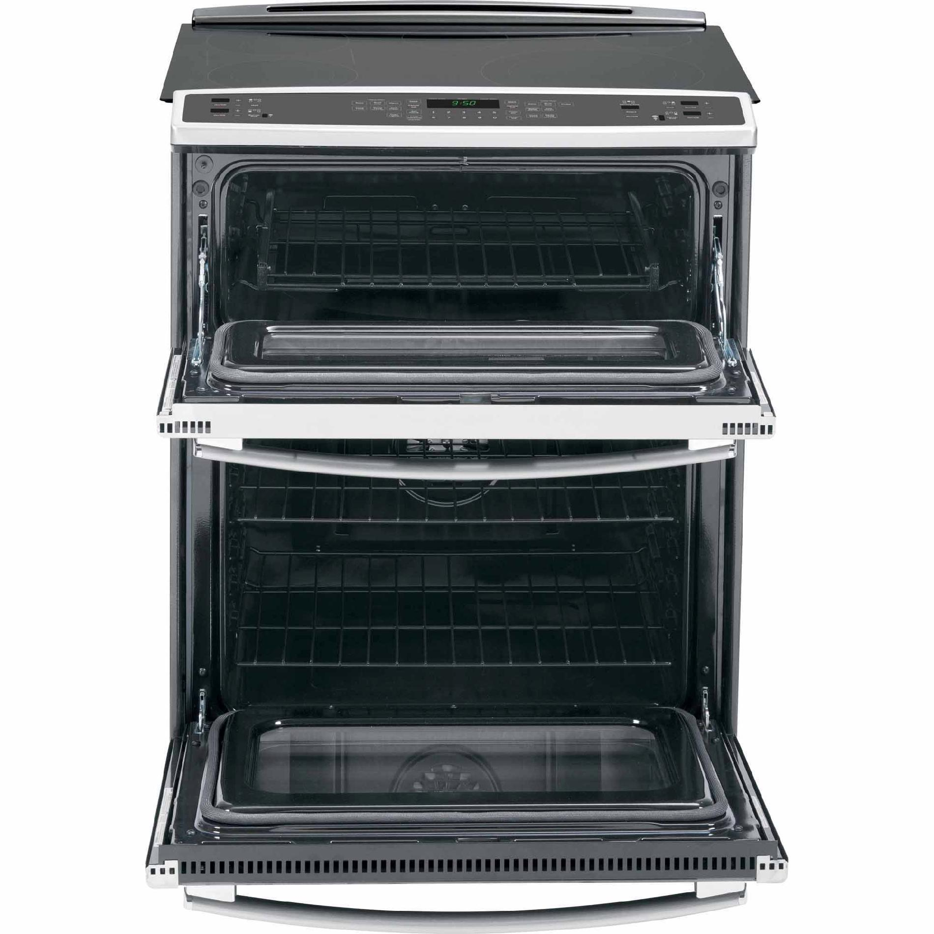 GE Profile PS950SFSS 4.4 cu. ft. Slide-In Electric Range w/ Convection Double Oven - Stainless Steel