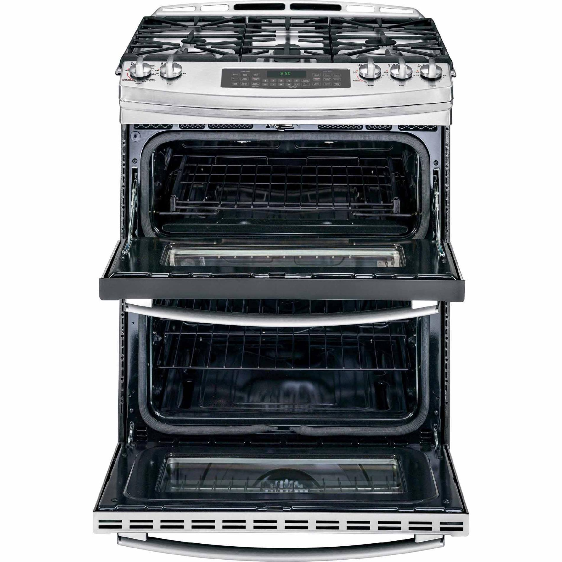 GE Profile PGS950SEFSS 6.8 cu. ft. Slide-In Gas Range w/ Convection - Stainless Steel