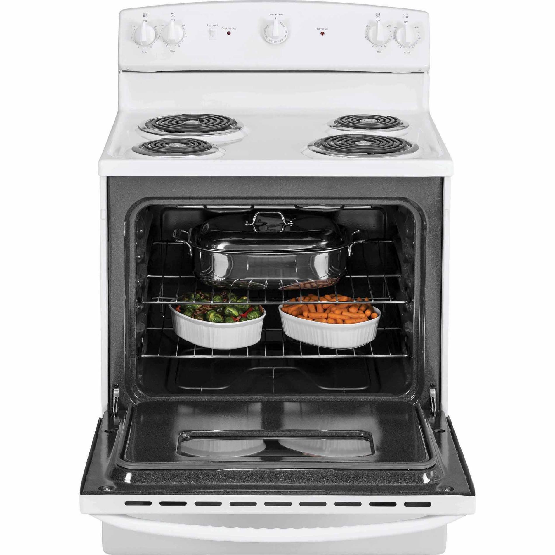 GE Appliances JBS10DFWW 5.0 cu. ft. Electric Range - White