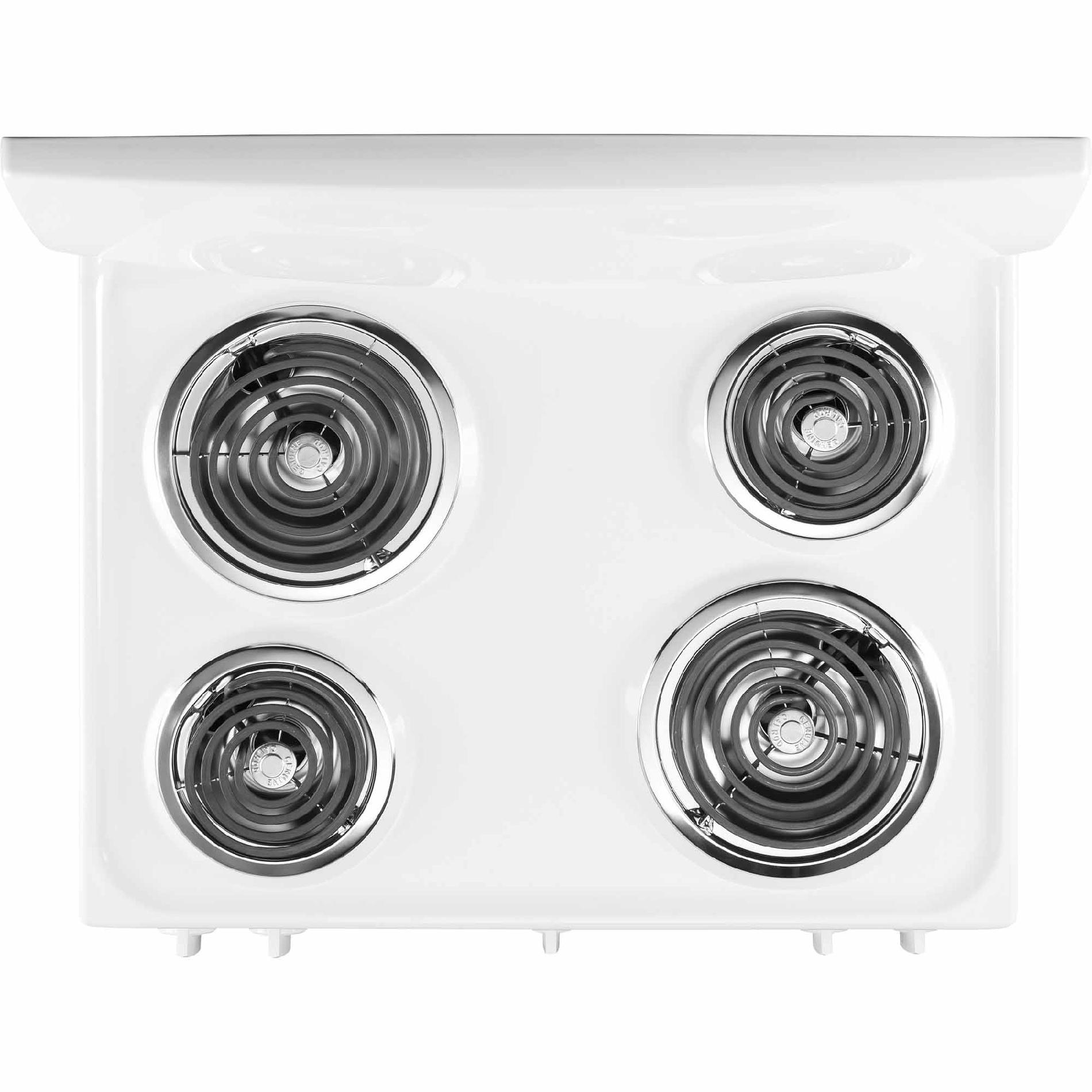 GE 5.0 cu. ft. Electric Range - White