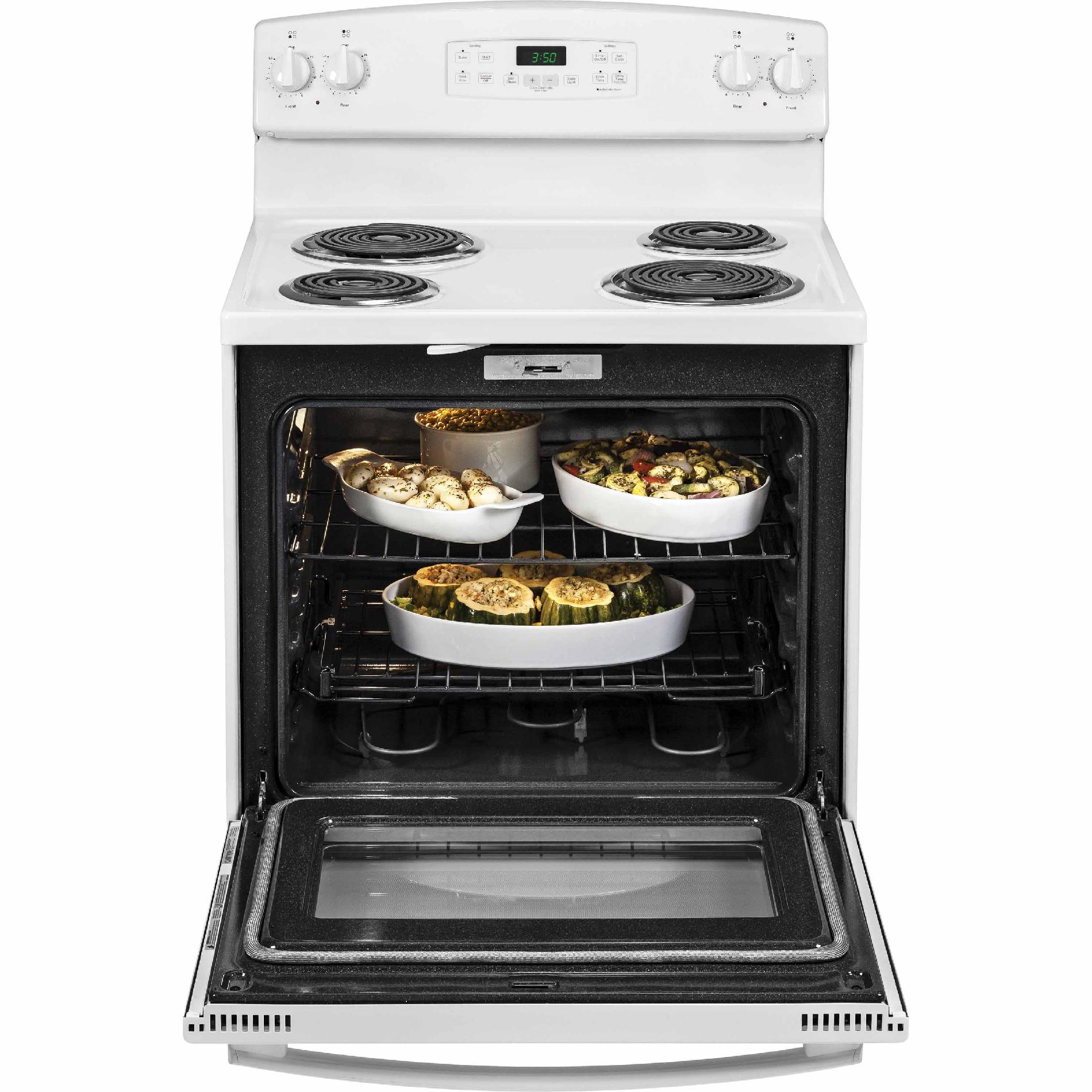 GE Appliances 5.3 cu. ft. Electric Range - White