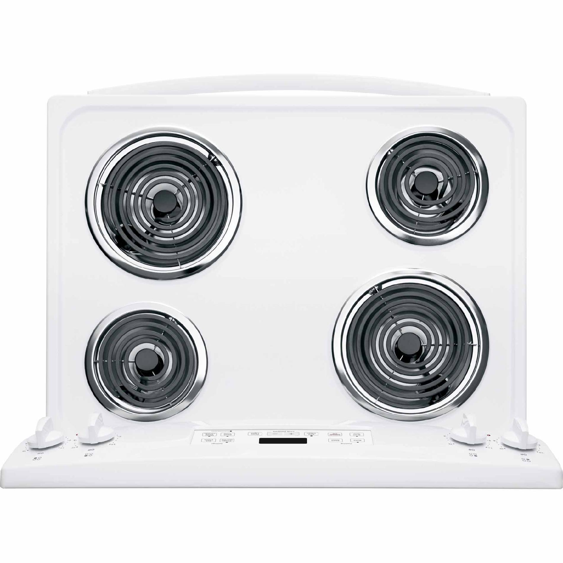 GE 5.3 cu. ft. Electric Range - White