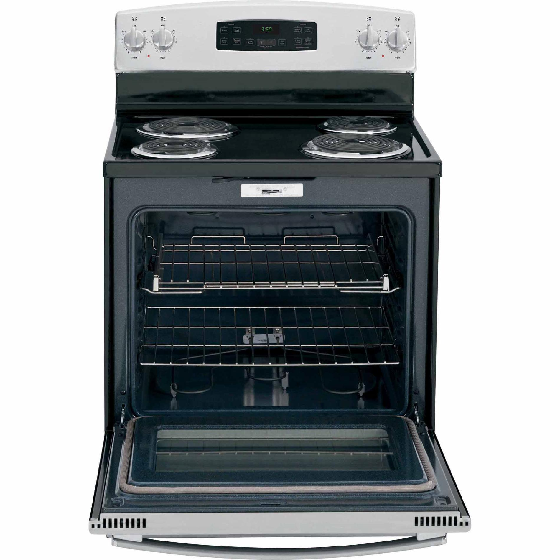 GE Appliances 5.3 cu. ft. Electric Range - Stainless Steel